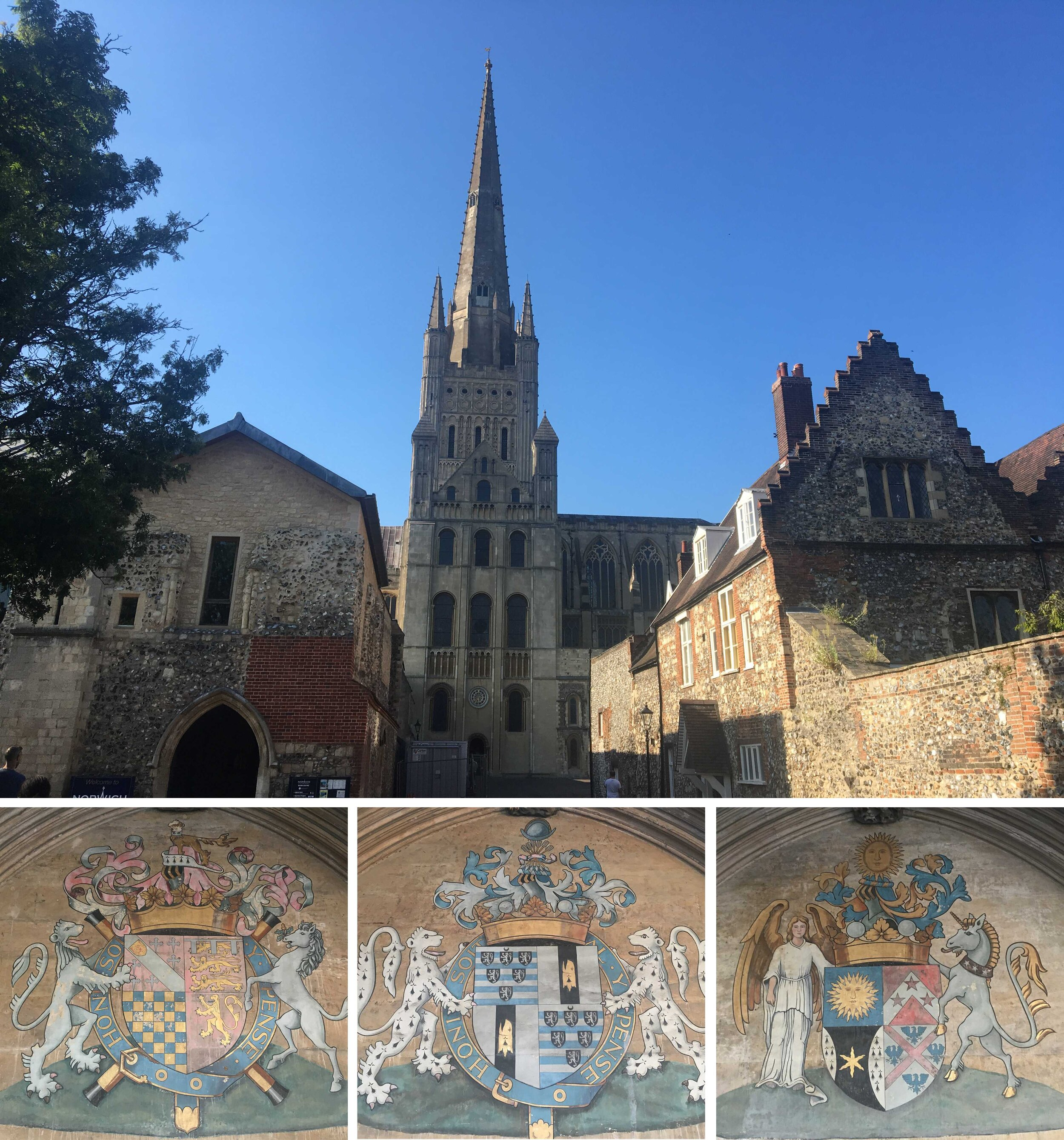 Norwich Cathedral. Photos: Karen Ingram
