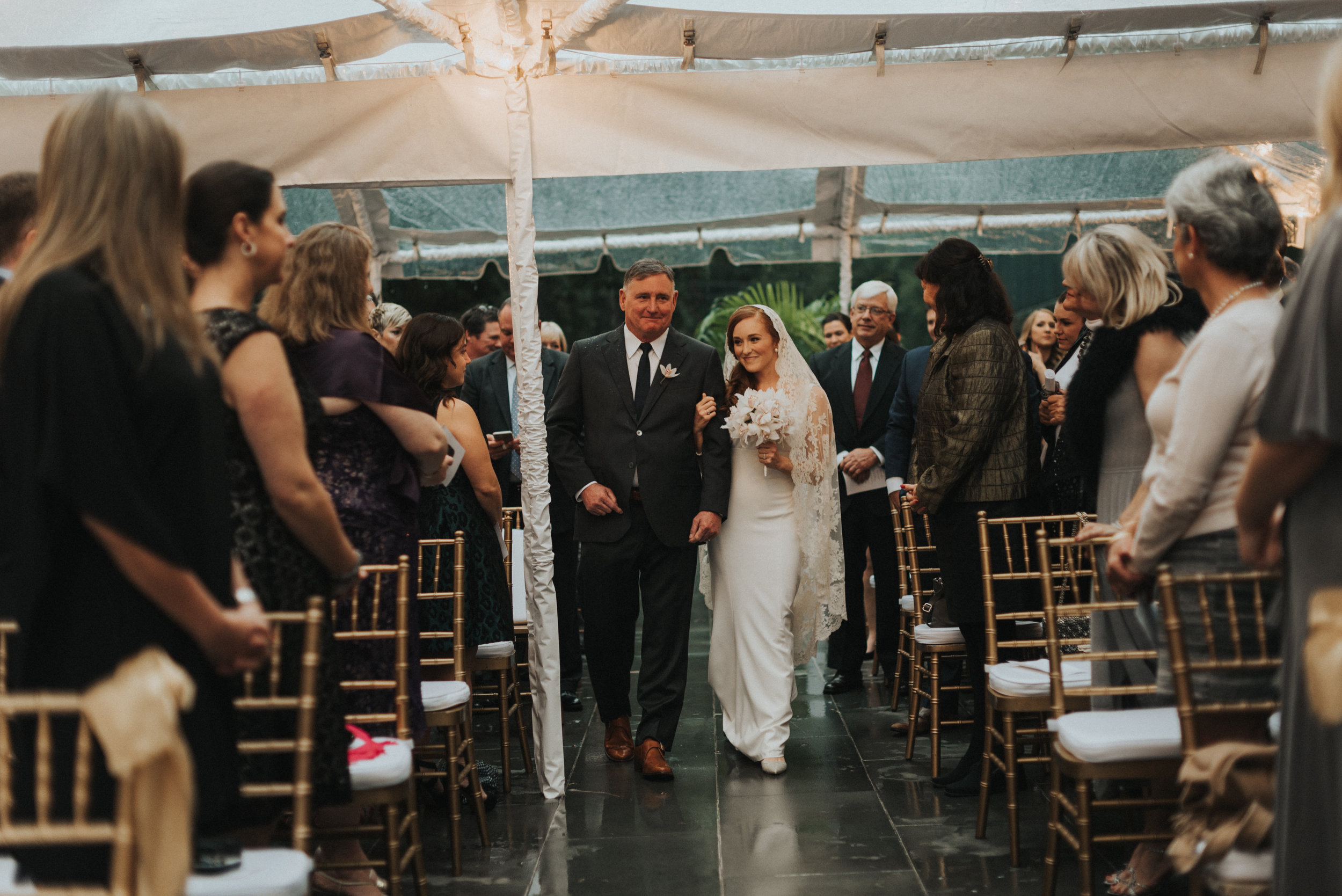 Southern Fete, Southern Wedding, Bride and Father, Erin and Geoffrey Photography