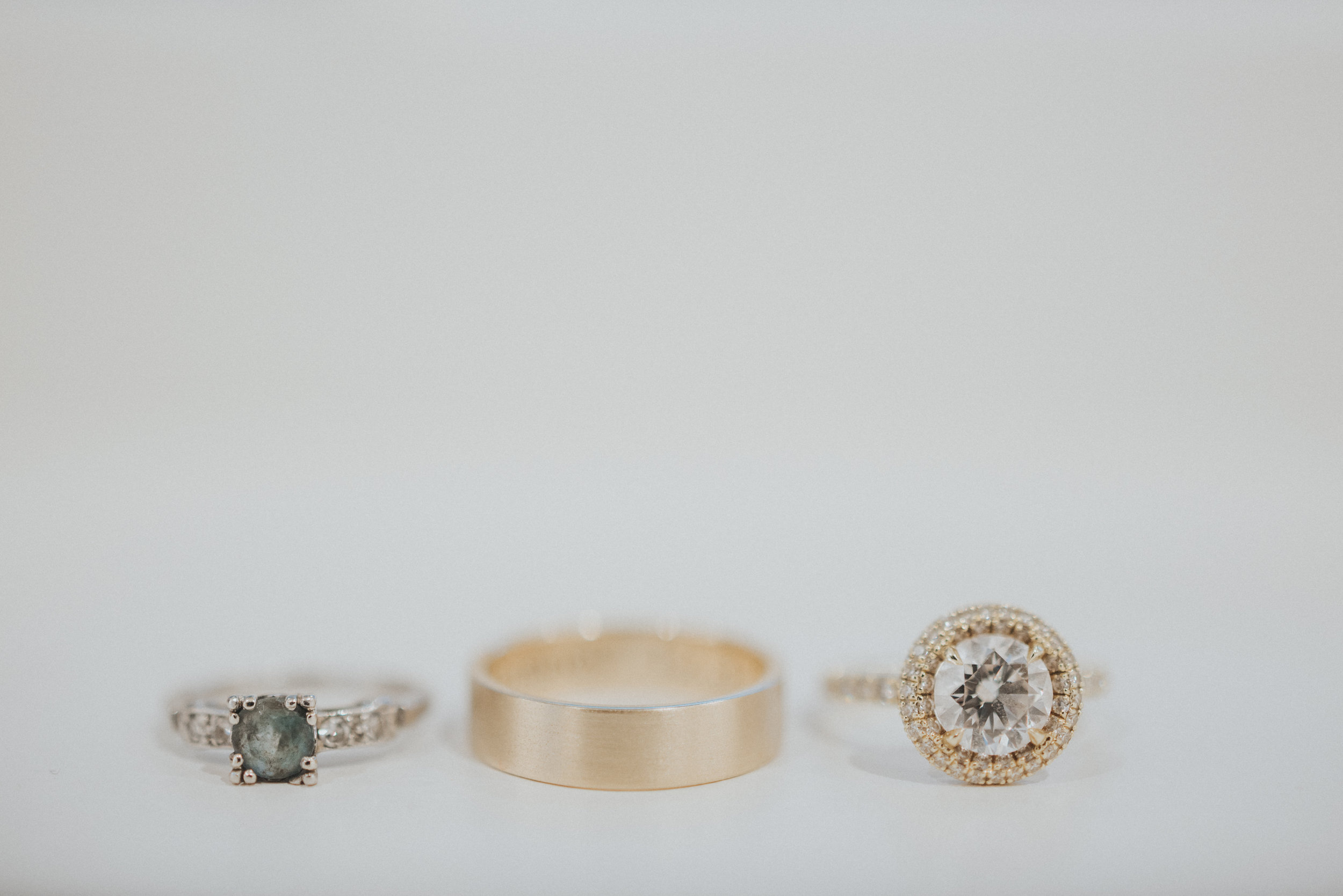 Southern Fete, Southern Wedding, Wedding rings, Erin and Geoffrey Photography