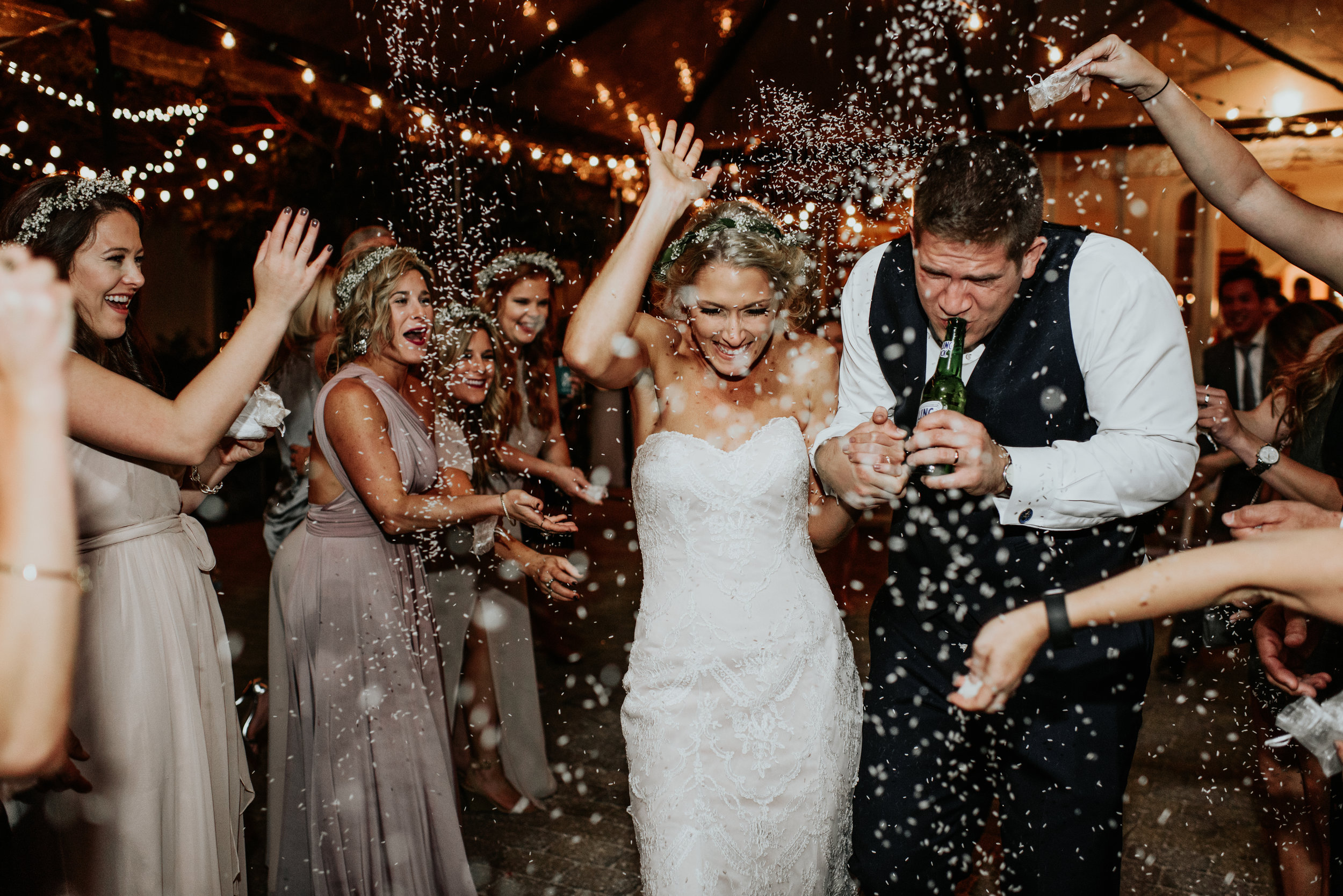 Southern Fete, Southern Wedding, Confetti, Hannah Mulligan Photography
