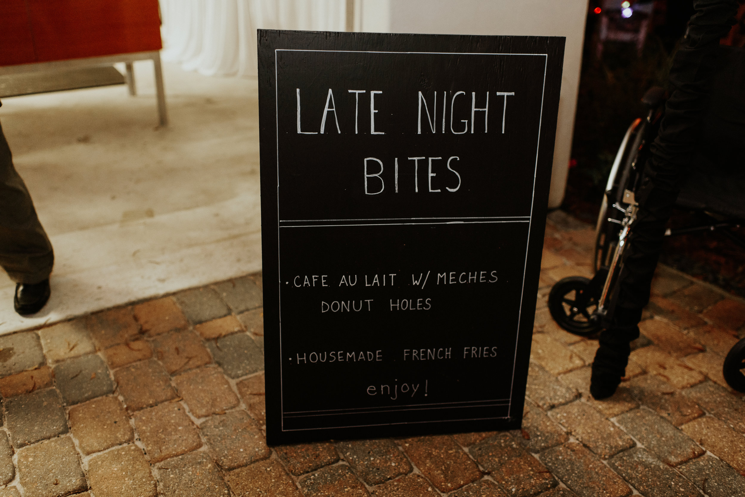 Southern Fete, Southern Wedding, Dessert sign