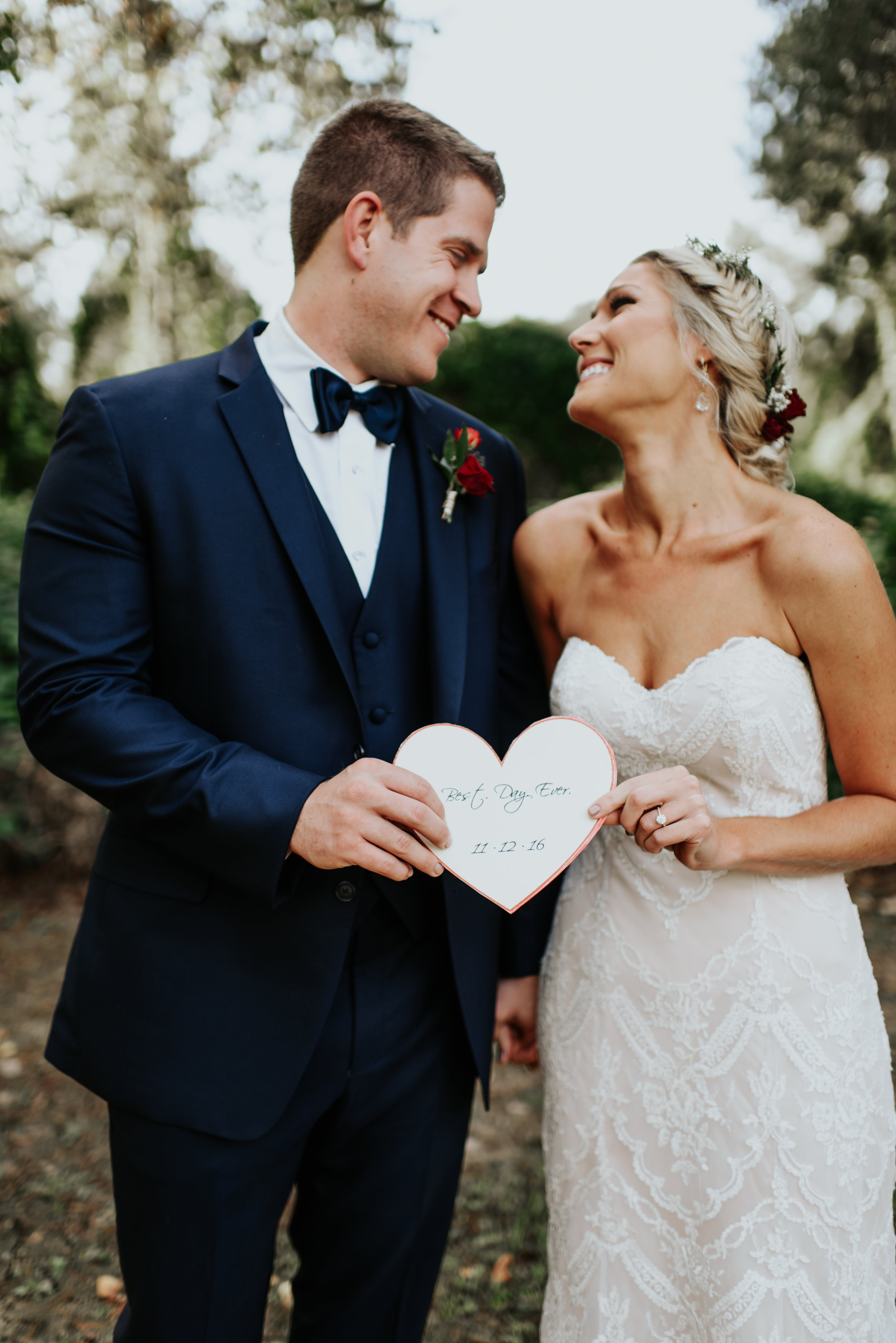 Southern Fete, Southern Wedding, Bride and Groom, Hannah Mulligan Photography