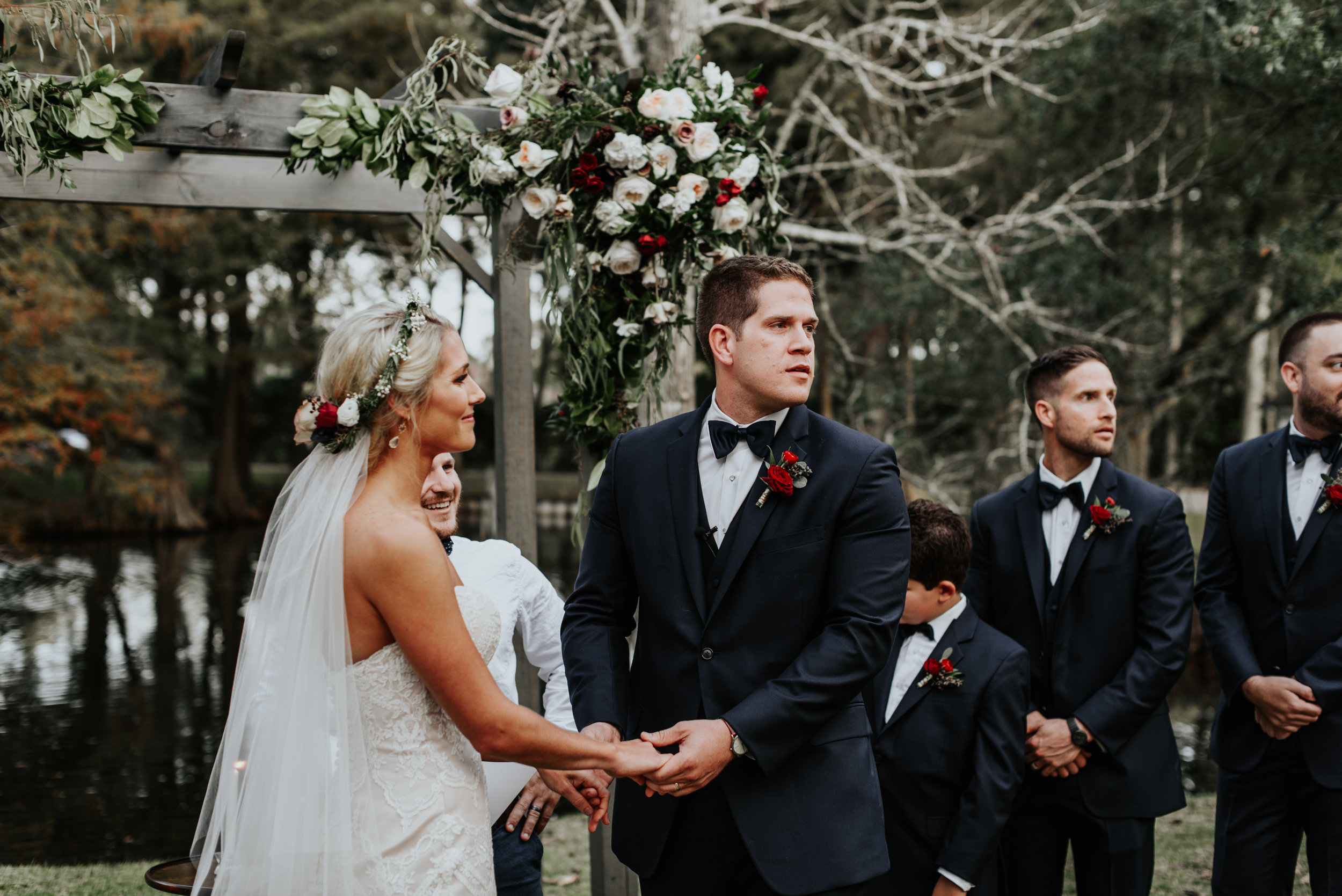 Southern Fete, Southern Wedding, Ceremony, Outside Wedding, Hannah Mulligan Photography