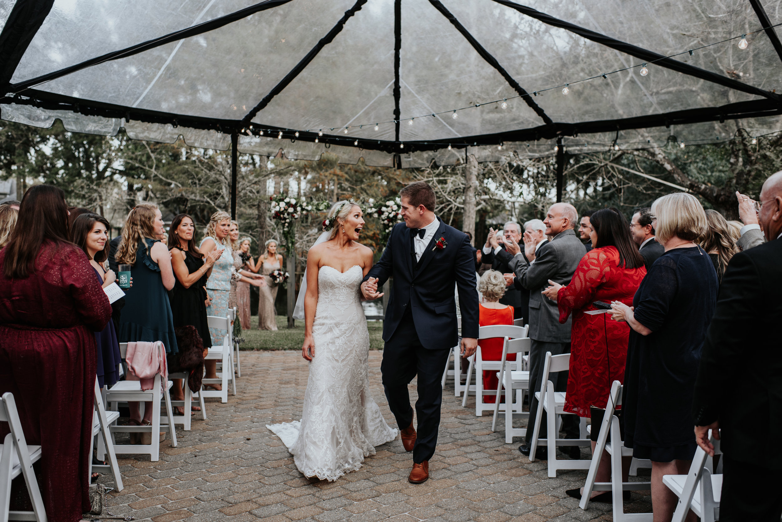 Southern Fete, Southern Wedding, Tent Wedding, Bride and Groom, Hannah Mulligan Photography