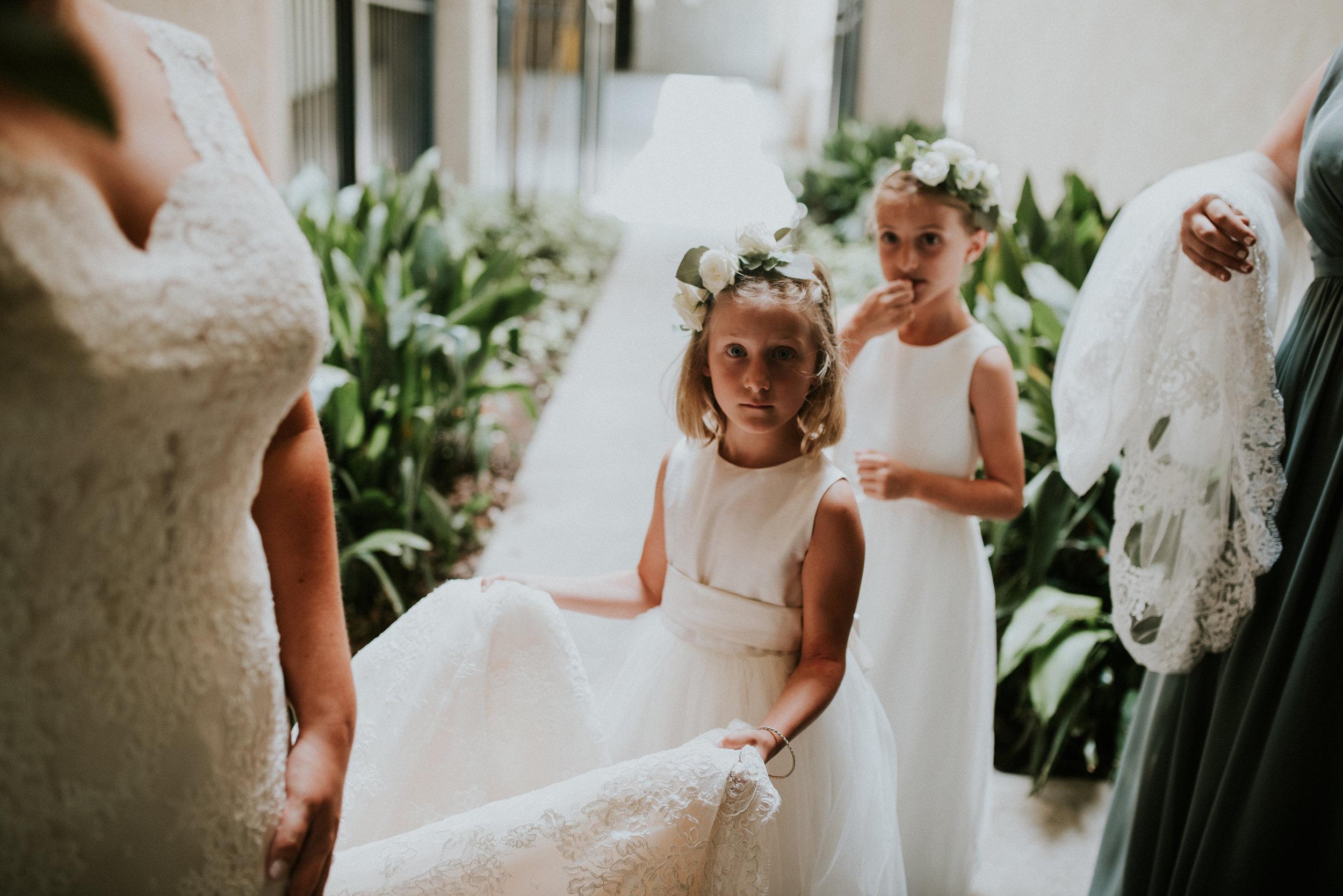 Southern Fete, Southern Wedding, Flower girls, Hannah Mulligan Photography