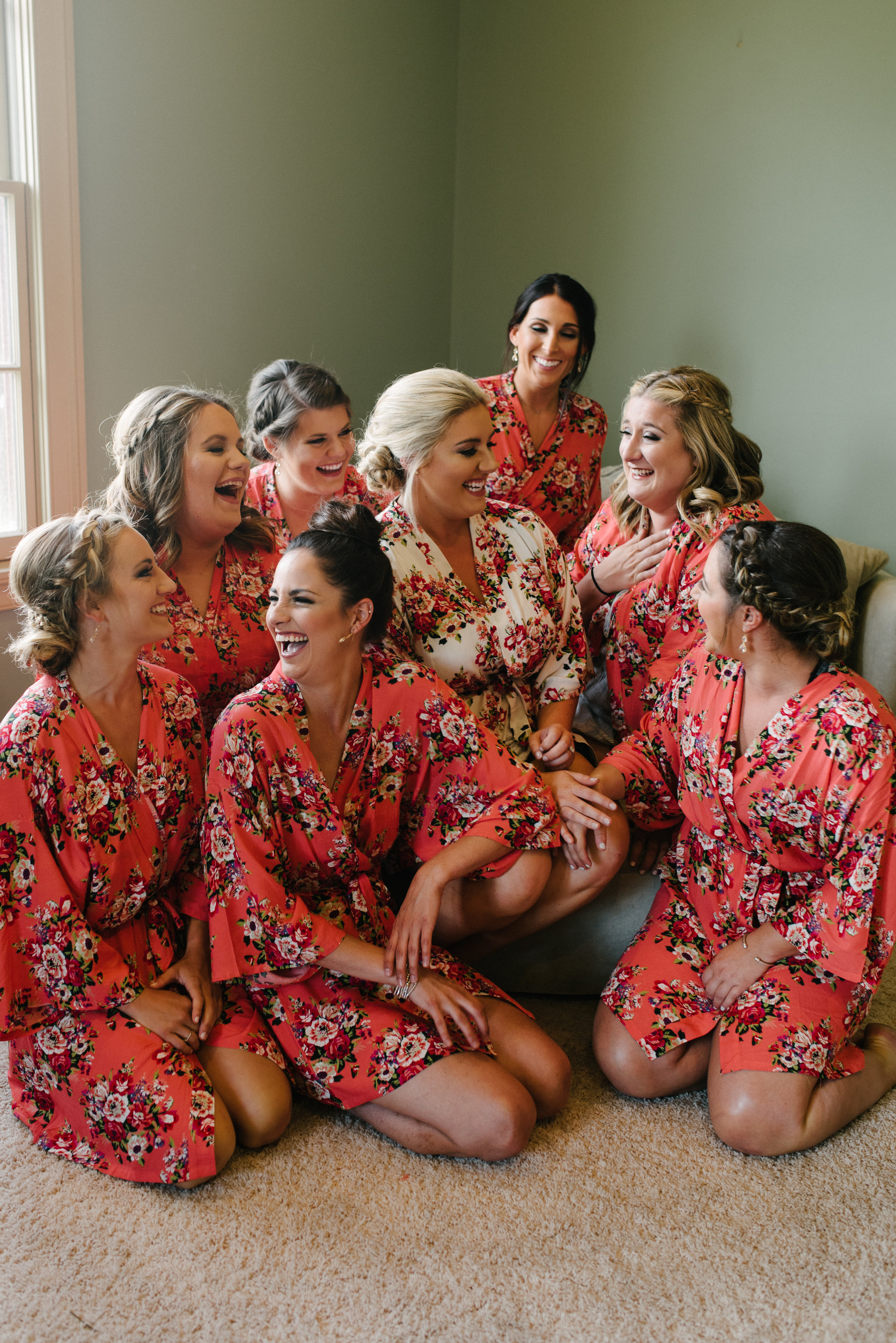 Southern Fete, Southern Wedding, Bridesmaids, Beauty by Victoria, Hannah Mulligan Photography