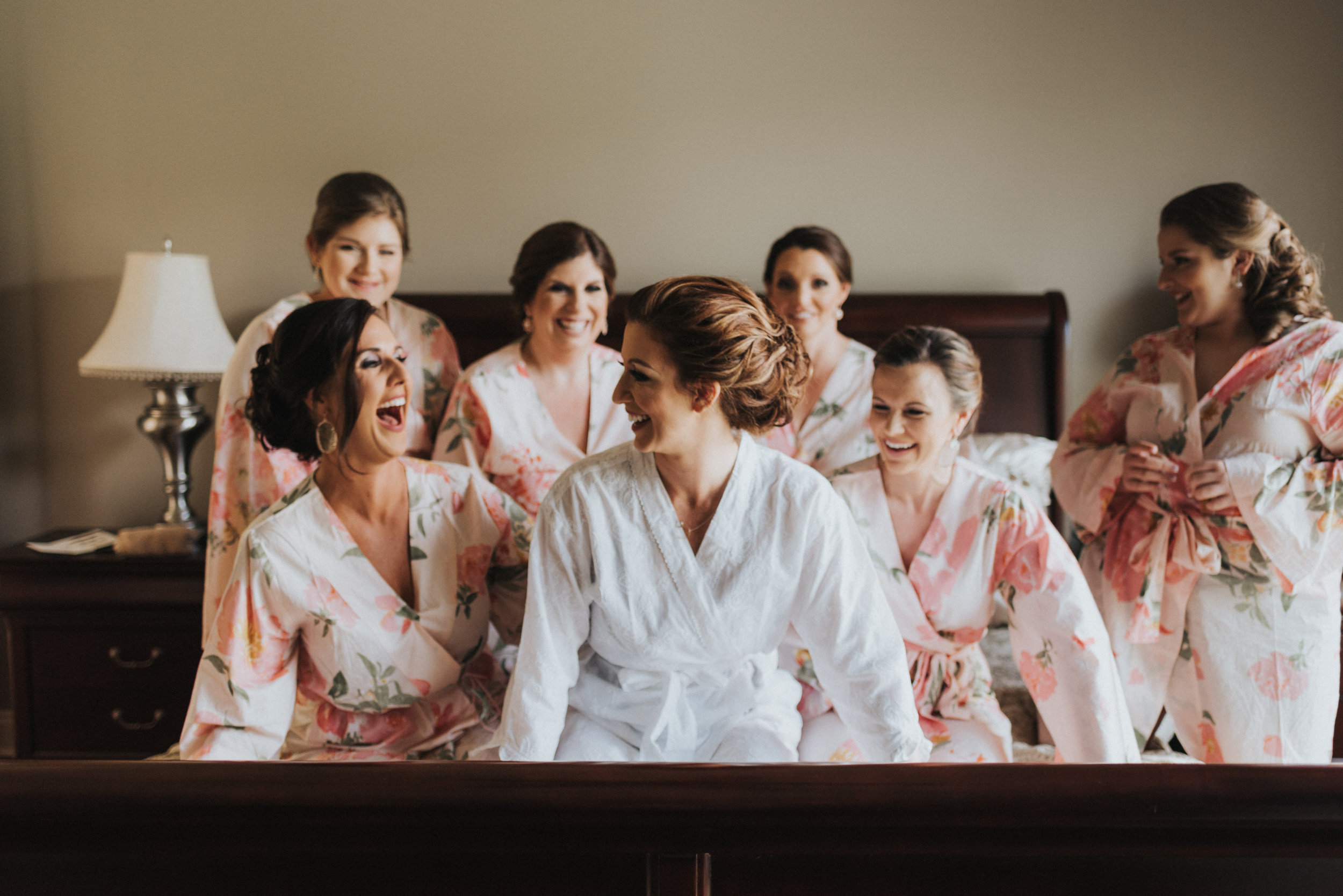 Southern Fete, Southern Wedding, Bride and Bridesmaid, Erin and Geoffrey Photography