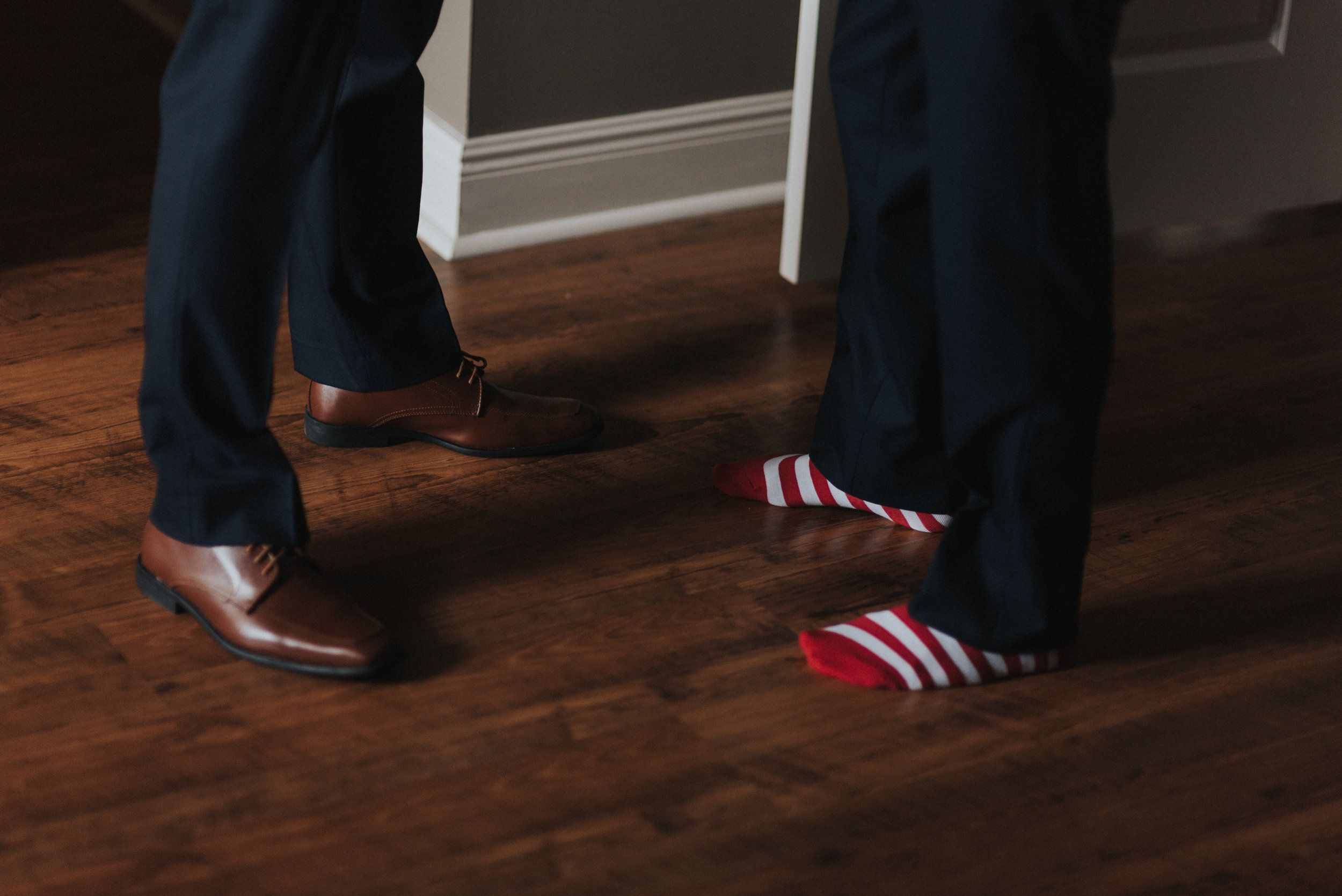 Southern Fete, Southern Wedding, Grooms shoes and party socks, Erin and Geoffrey Photography