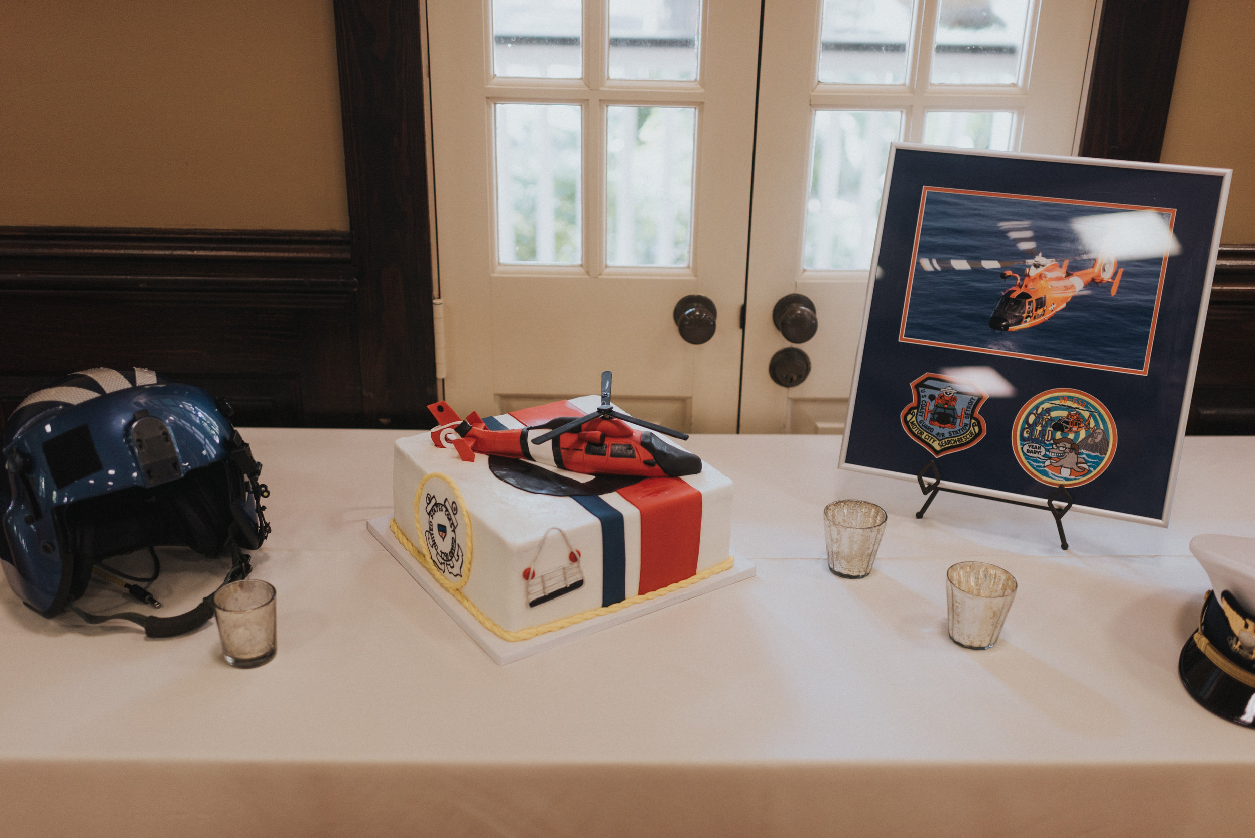 Southern Fete, Southern Wedding, Helicopter Cake, Sky's the Limit, Groom's cake