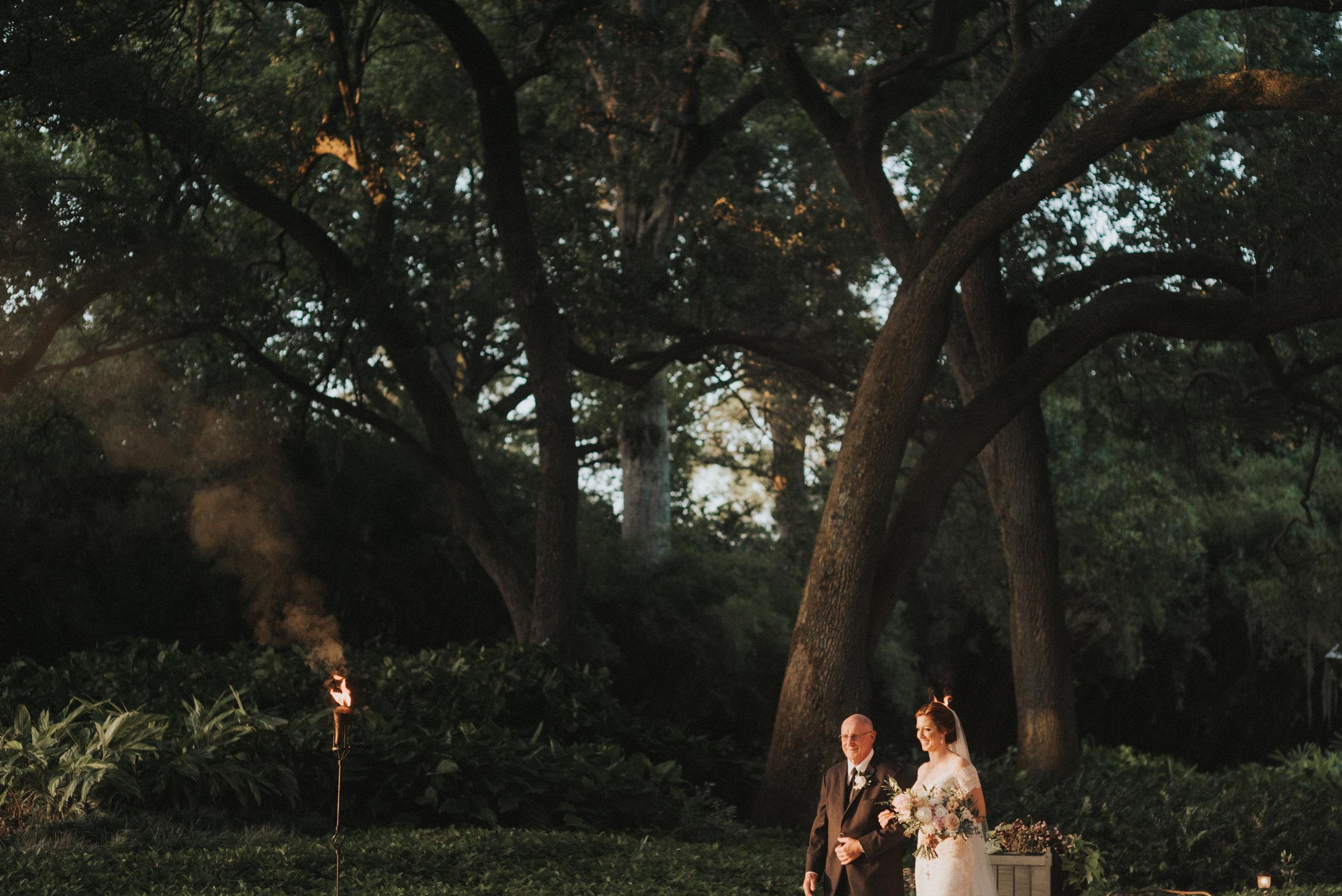 Southern Fete, Southern Wedding, Crystal Weddings, Bride entrance