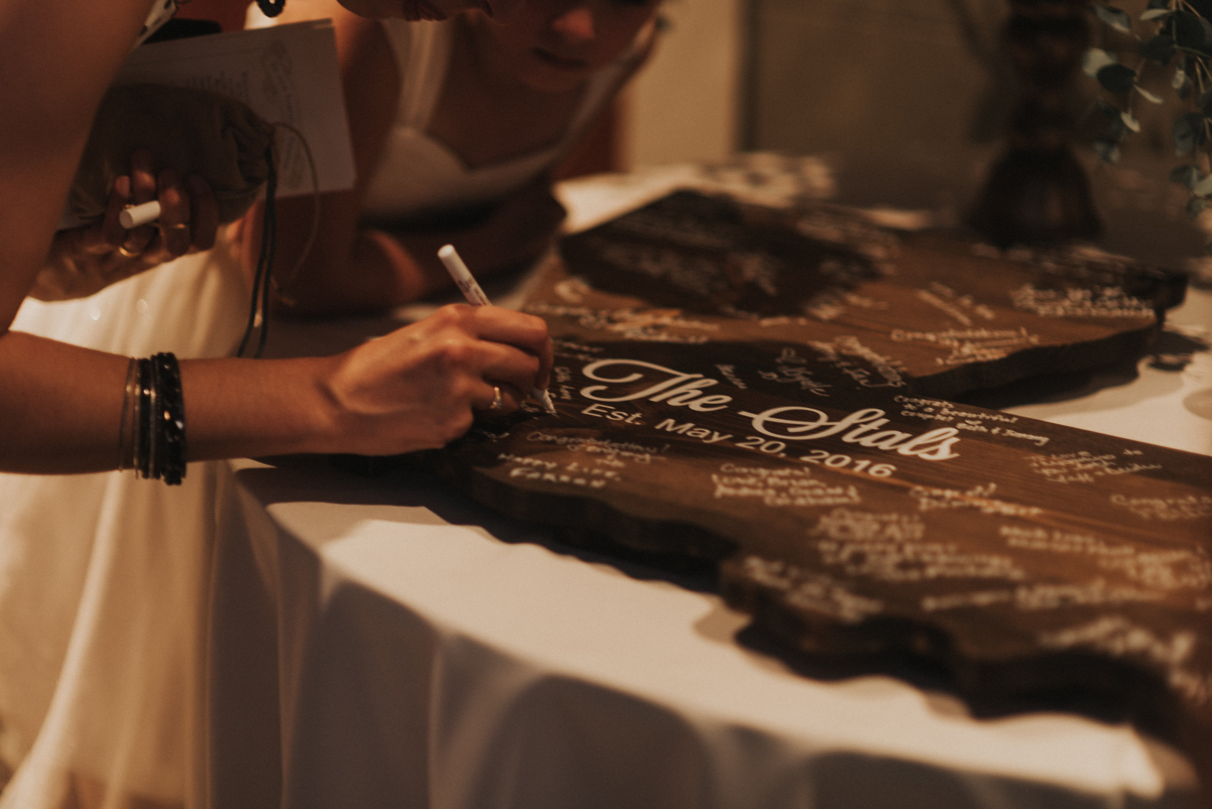 Southern Fete, Southern Wedding, Sign in Table, St. Blanc Calligraphy