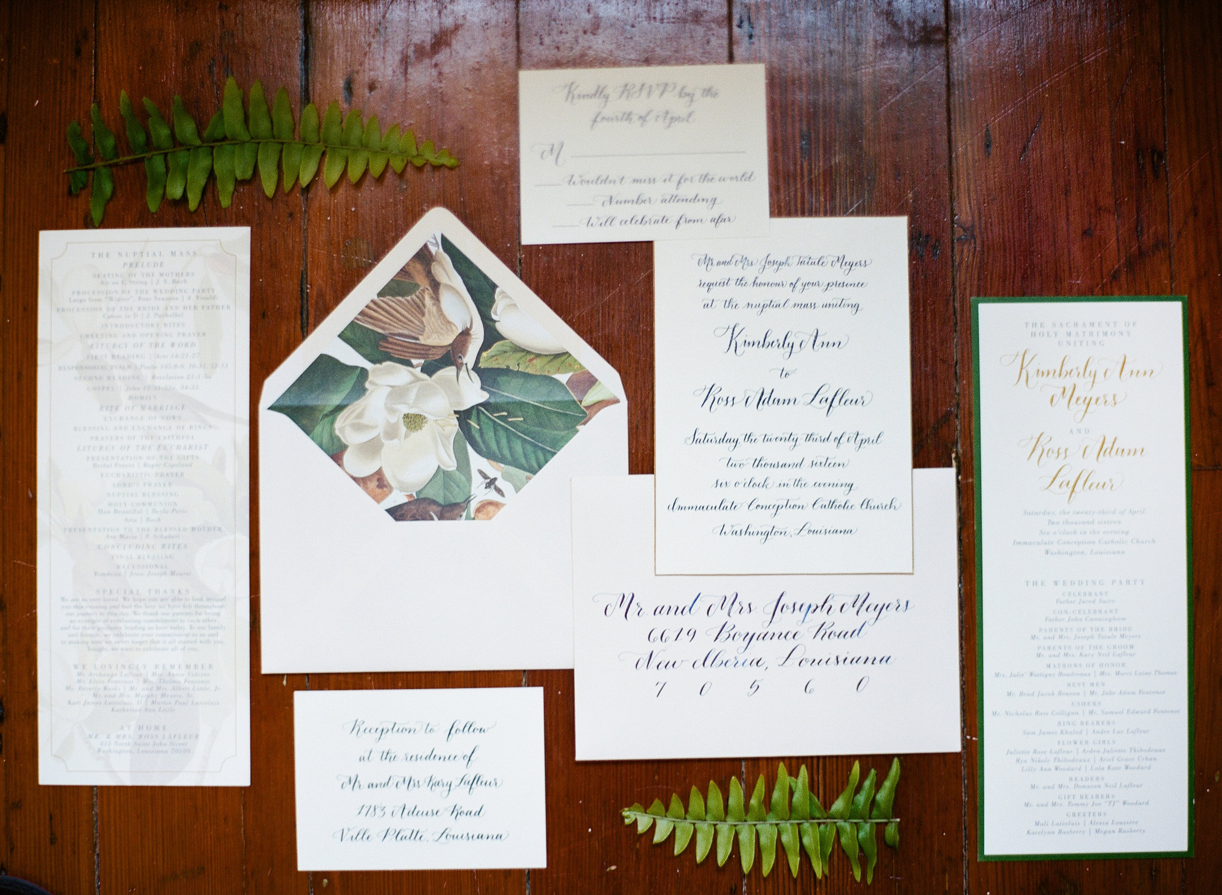 Southern Fete, Southern Wedding, Save the dates, Inkling Design Studio