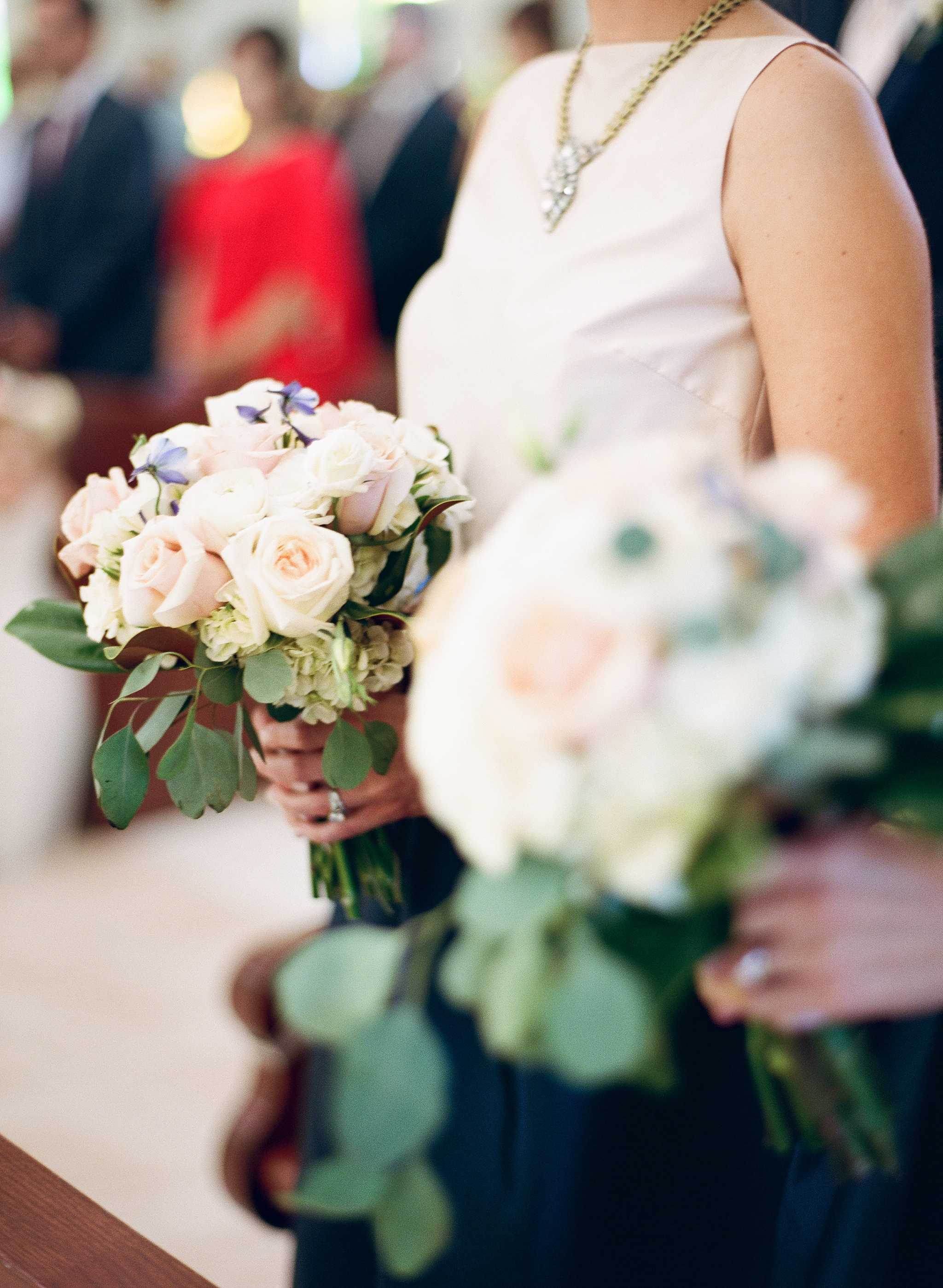 Southern Fete, Southern Wedding, Flowers by Rodney, White and Blush Flower Bouquet
