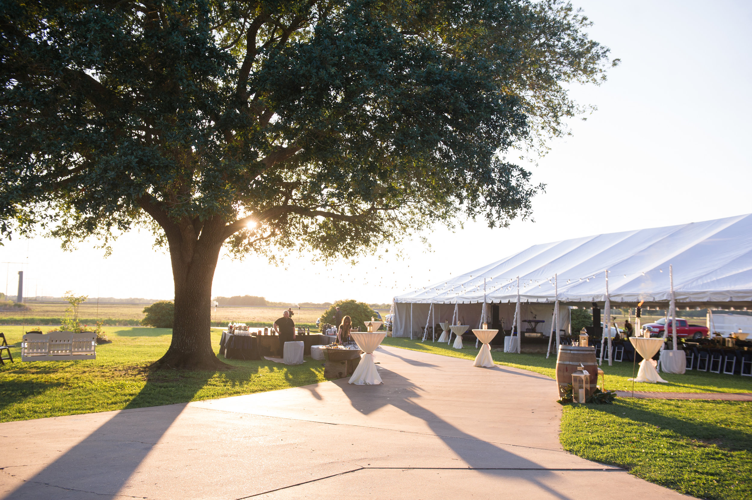Southern Fete, Southern Wedding, Outside Reception, Tent Reception, Party Central, Beau Soleil