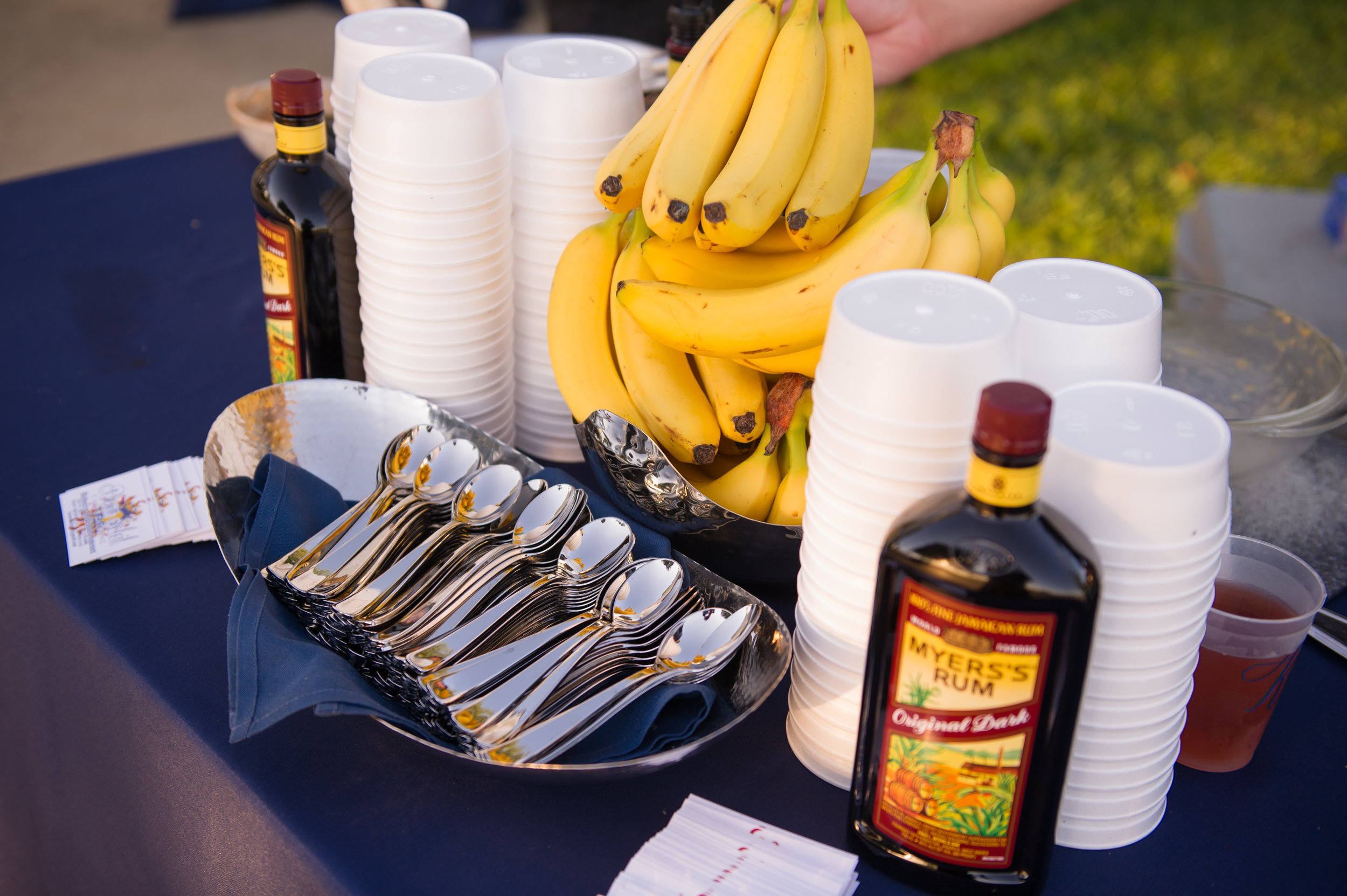 Southern Fete, Southern Wedding, Banana and Rum Table, Catherine Guidry Photography