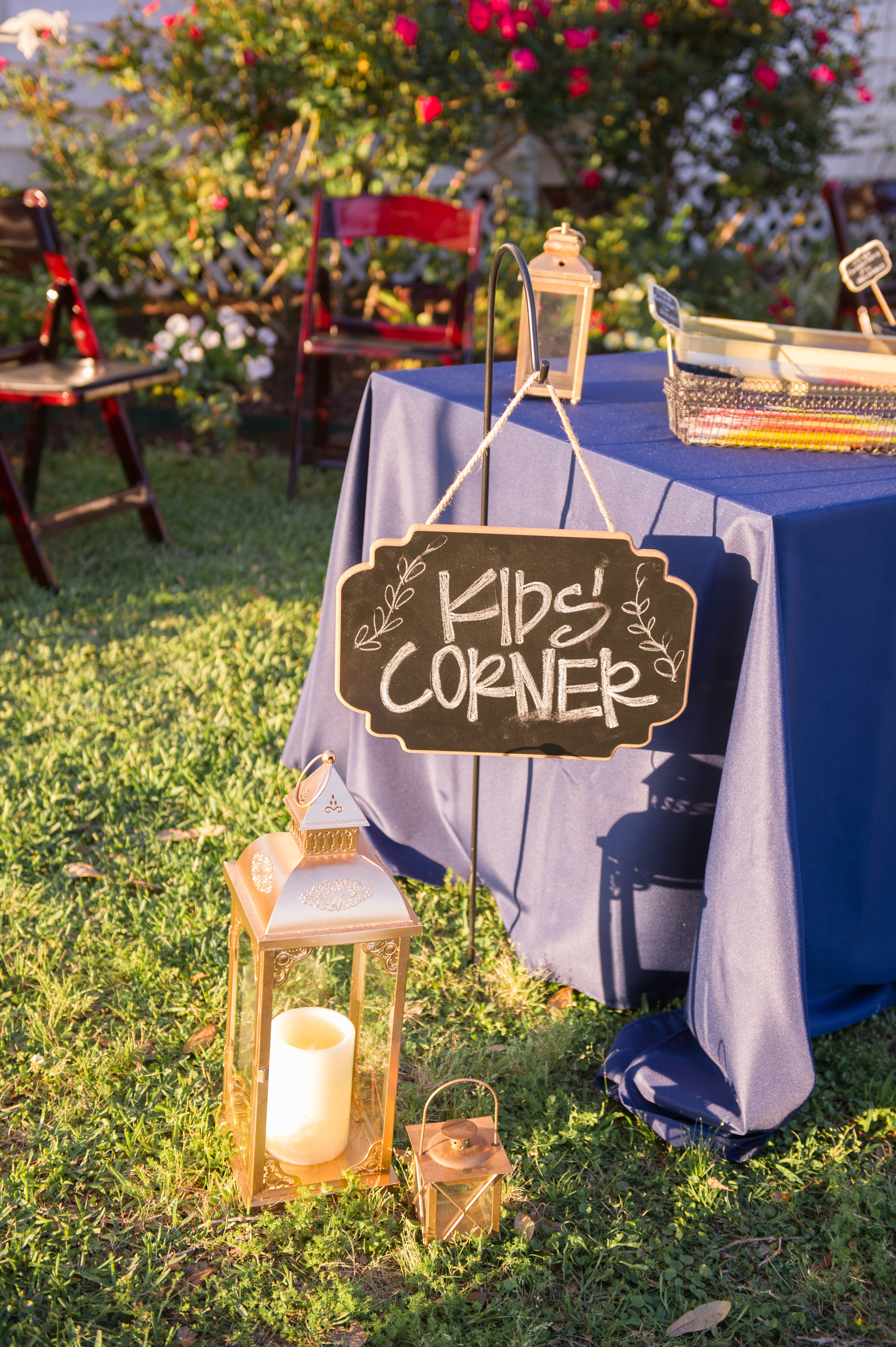 Southern Fete, Southern Wedding, Kid's corner, Party Central, Inkling Design Studio