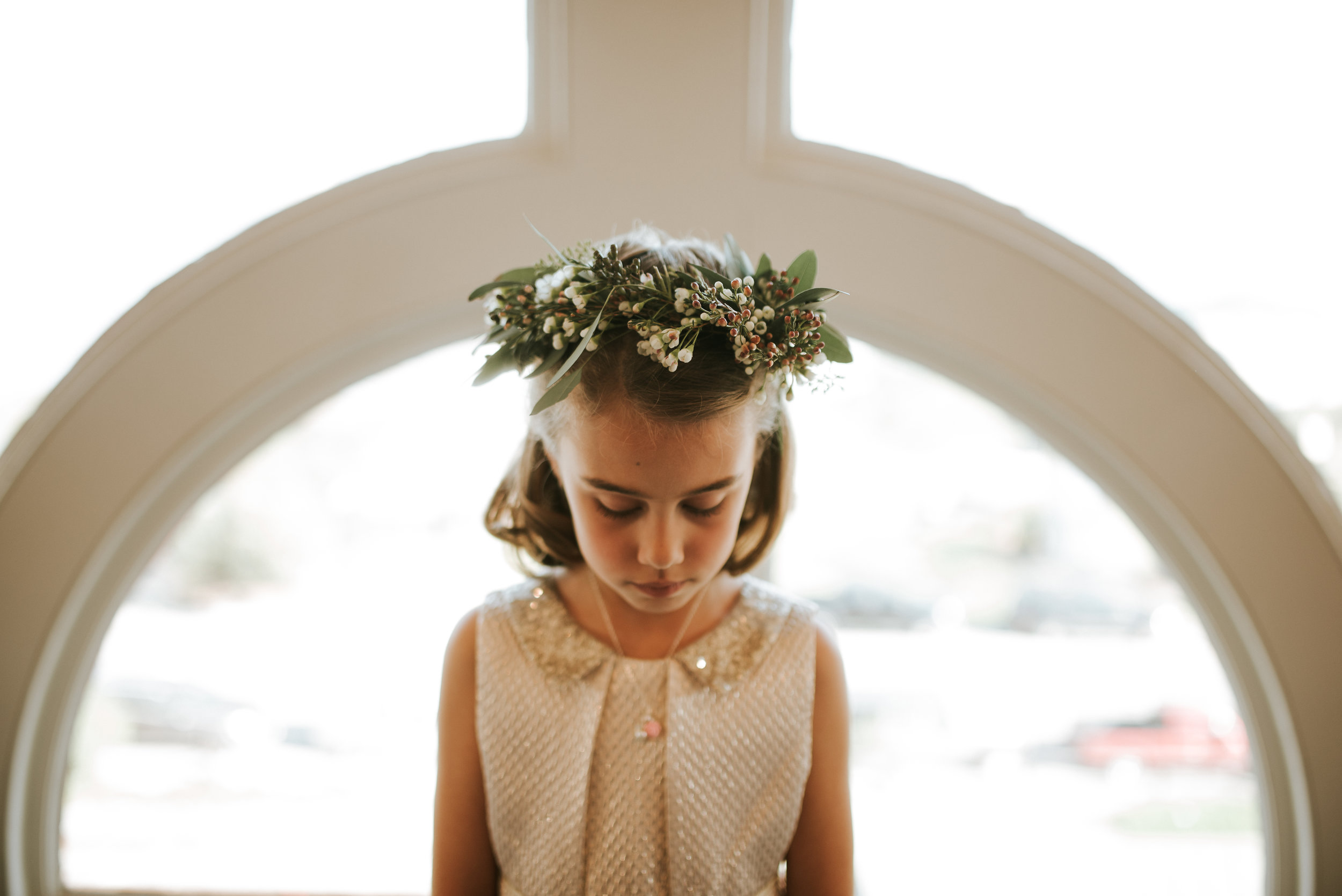 Southern Fete, Southern Wedding, Flower girl, Hannah Mulligan Photography