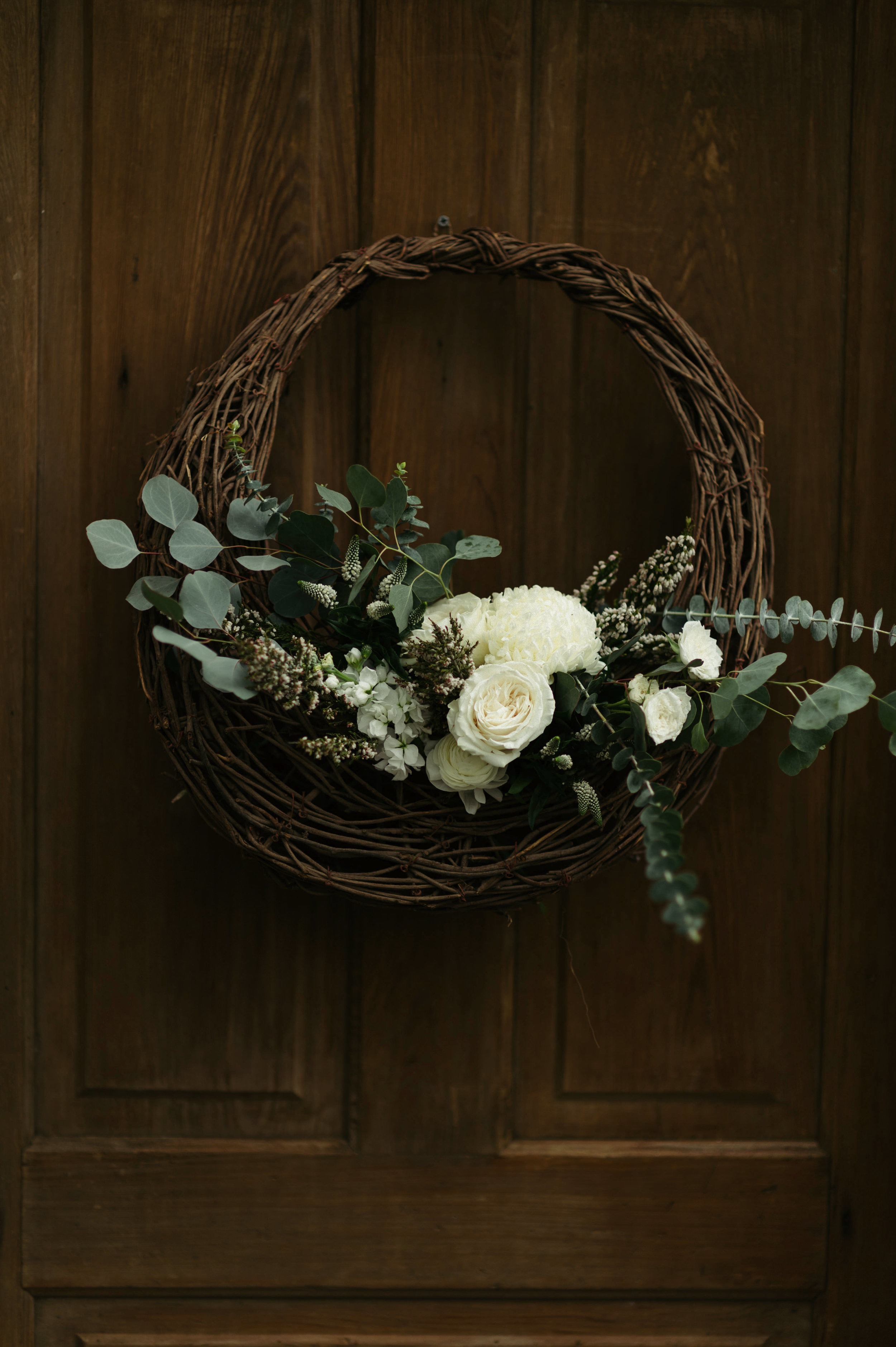 Southern Fete, Southern Wedding, Root Floral Design, Wedding Wreath