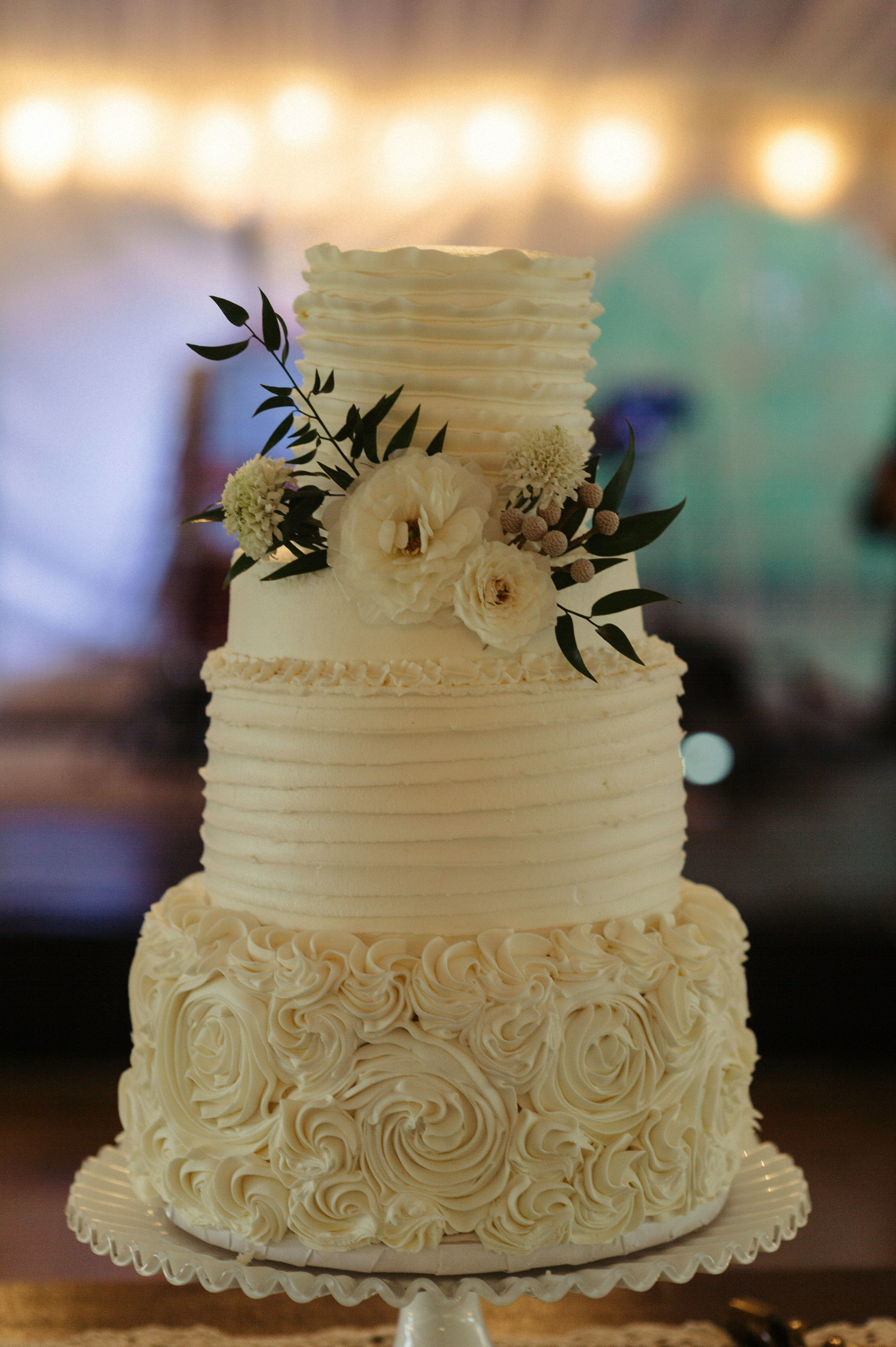 Southern Fete, Southern Wedding, Guidry's Cake Shop, Bride's cake