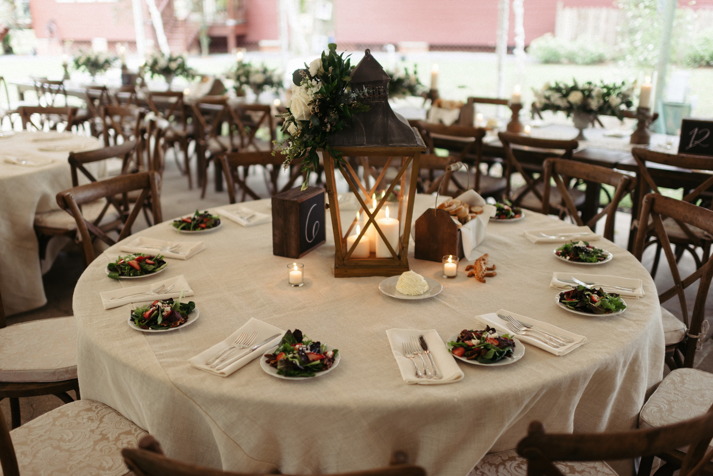 Southern Fete, Southern Wedding, Candle Center Pieces, Erin and Geoffrey Photography, Root Floral Design