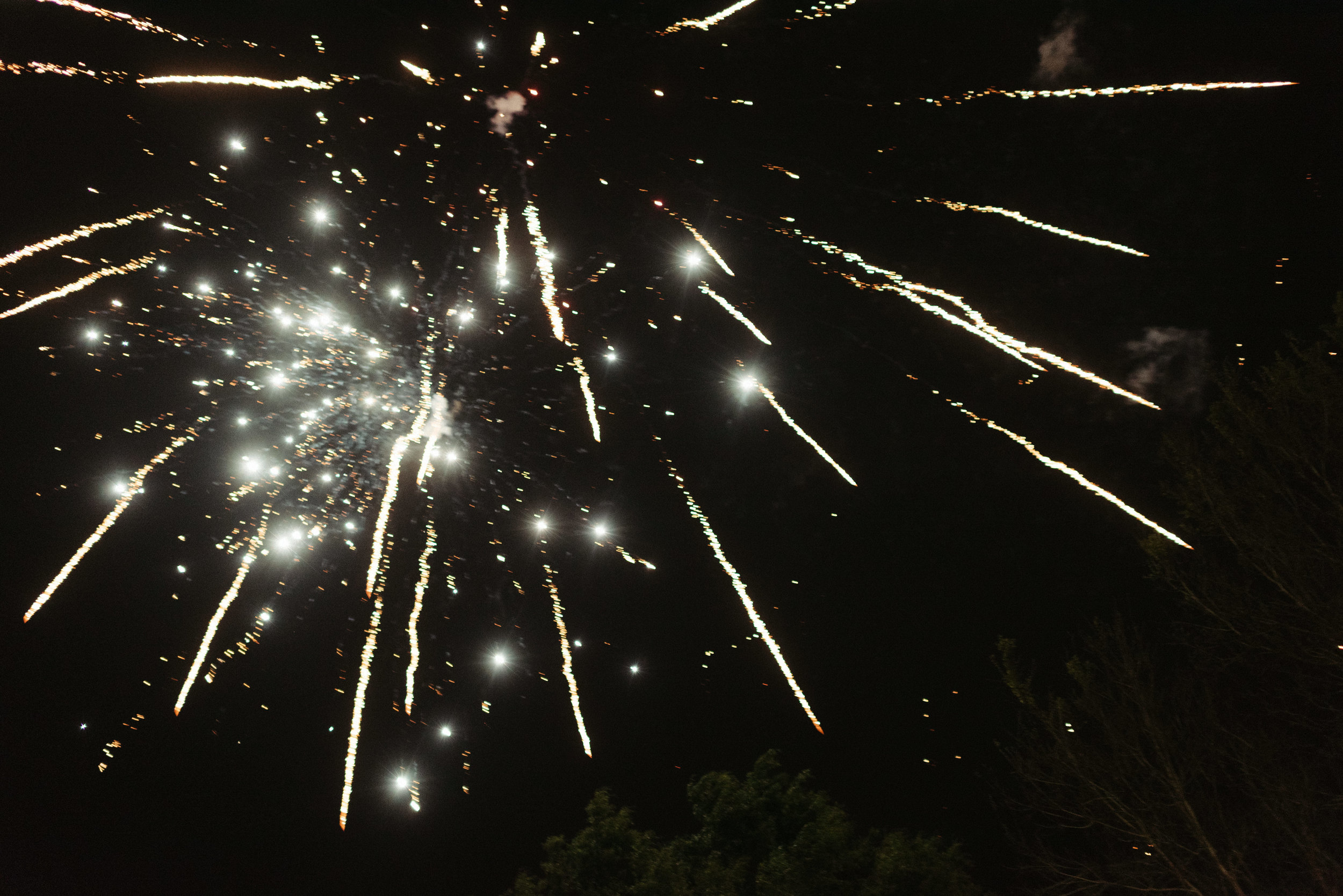 Southern Fete, Southern Wedding, Fireworks