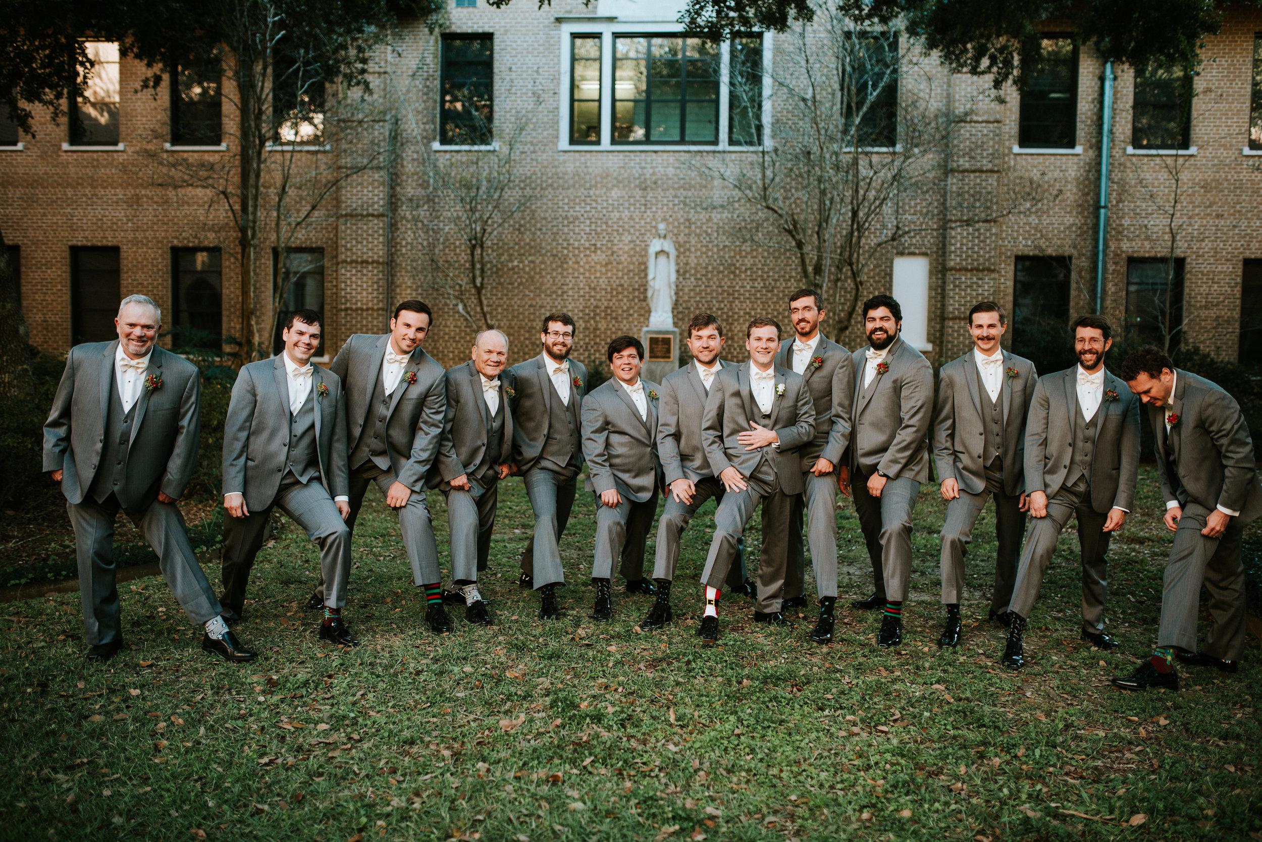 Southern Fete, Southern Wedding, Groomsman, Hannah Mulligan Photography