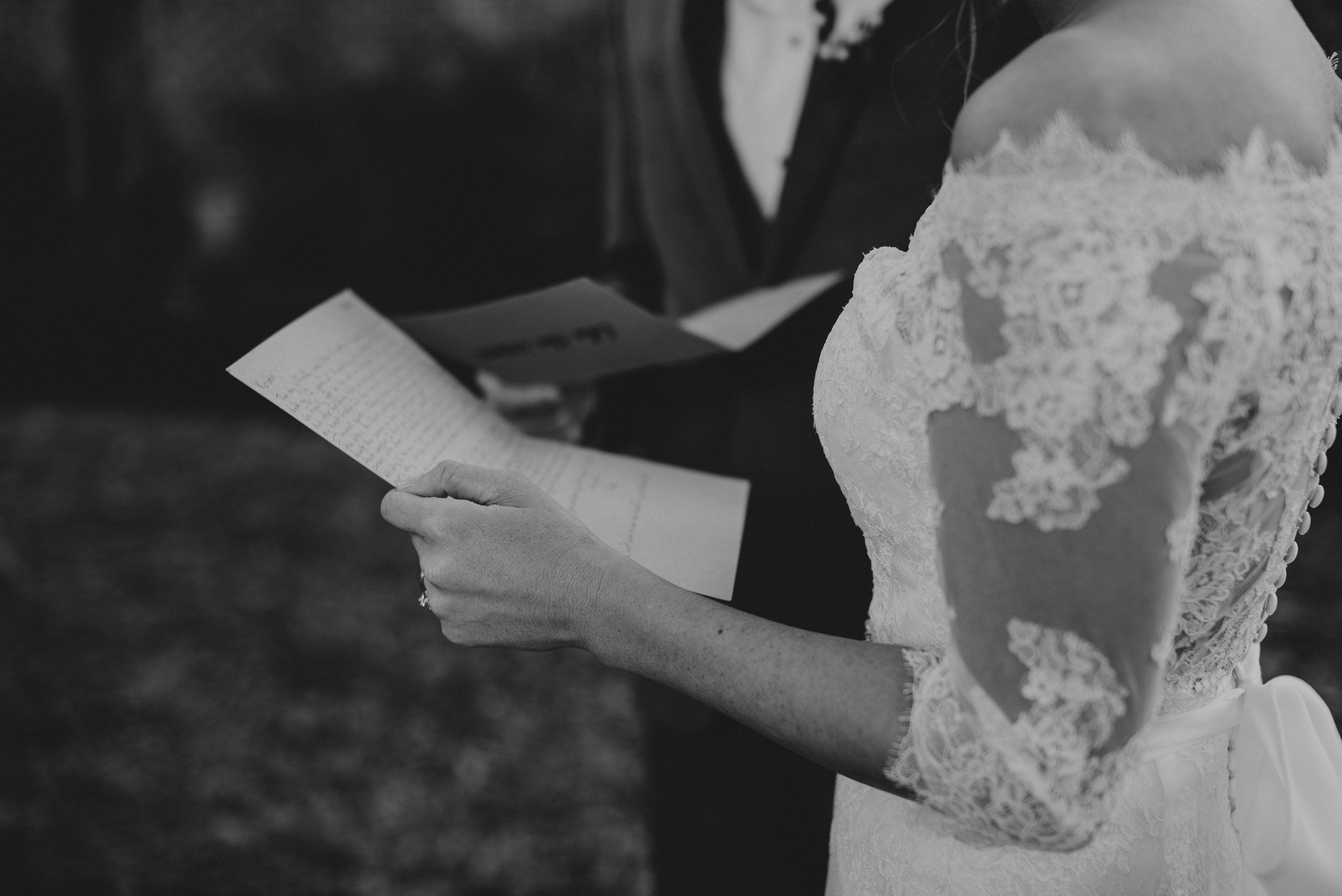 Southern Fete, Southern Wedding, Bride and Groom Notes, Hannah Mulligan Photography