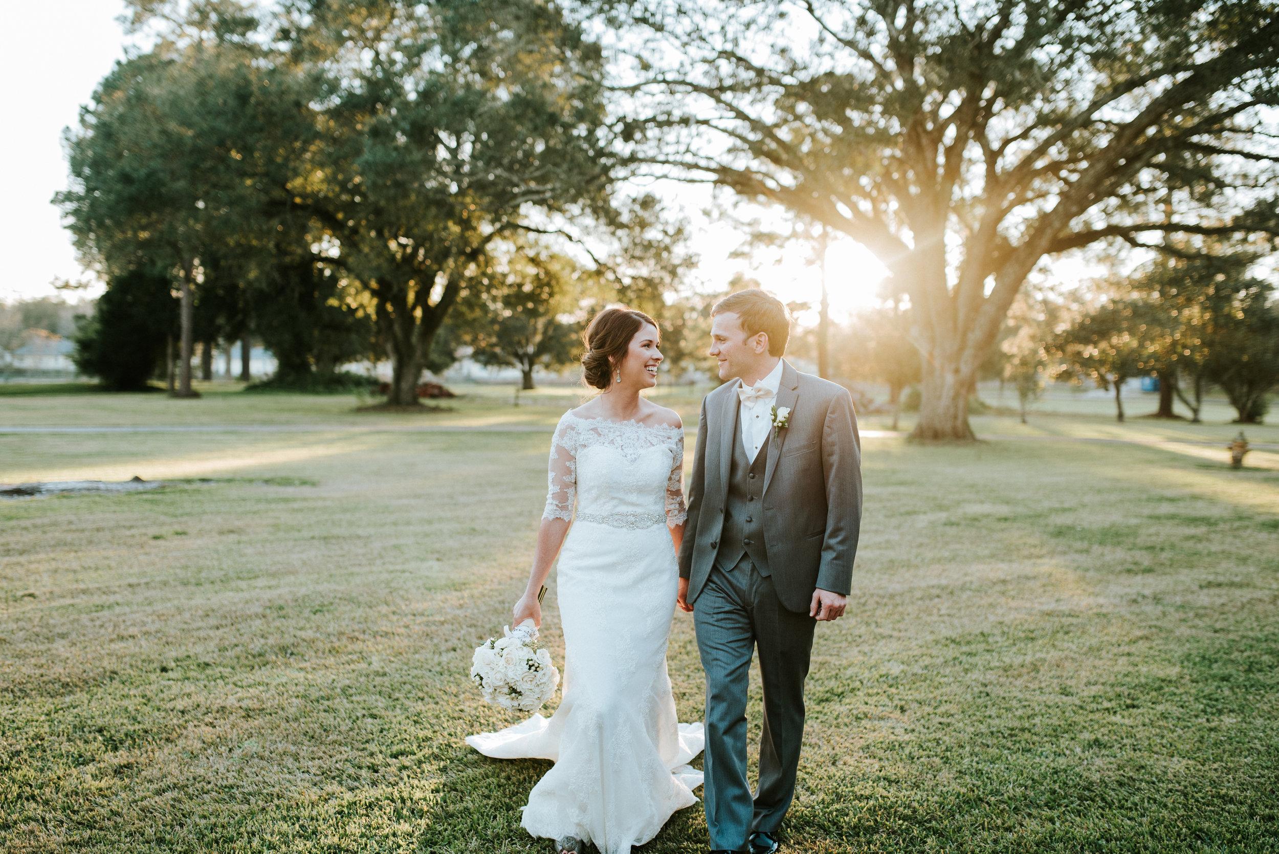 Southern Fete, Southern Wedding, Outside Wedding Photos, Hannah Mulligan Photography