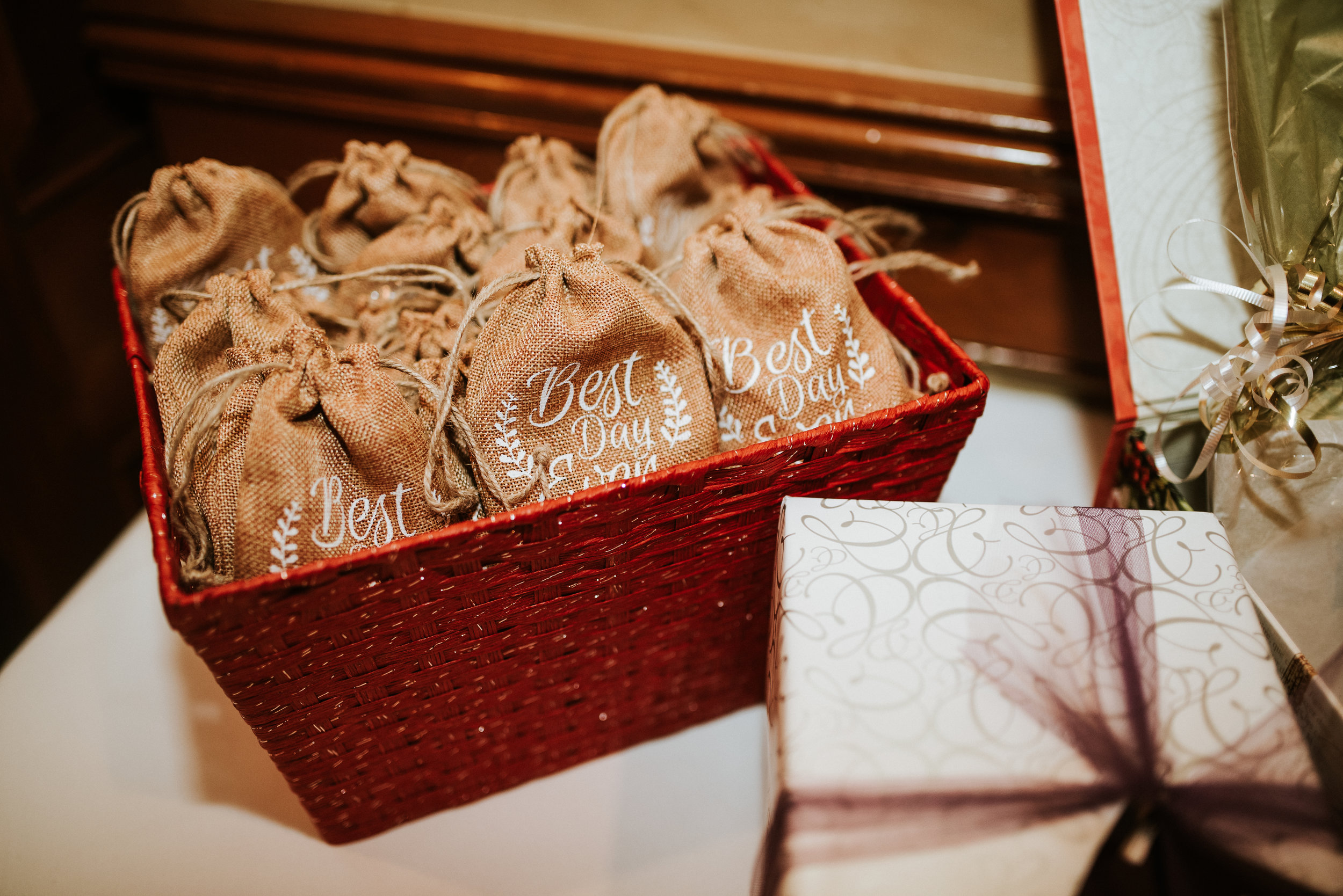Southern Fete, Southern Wedding, Party favors