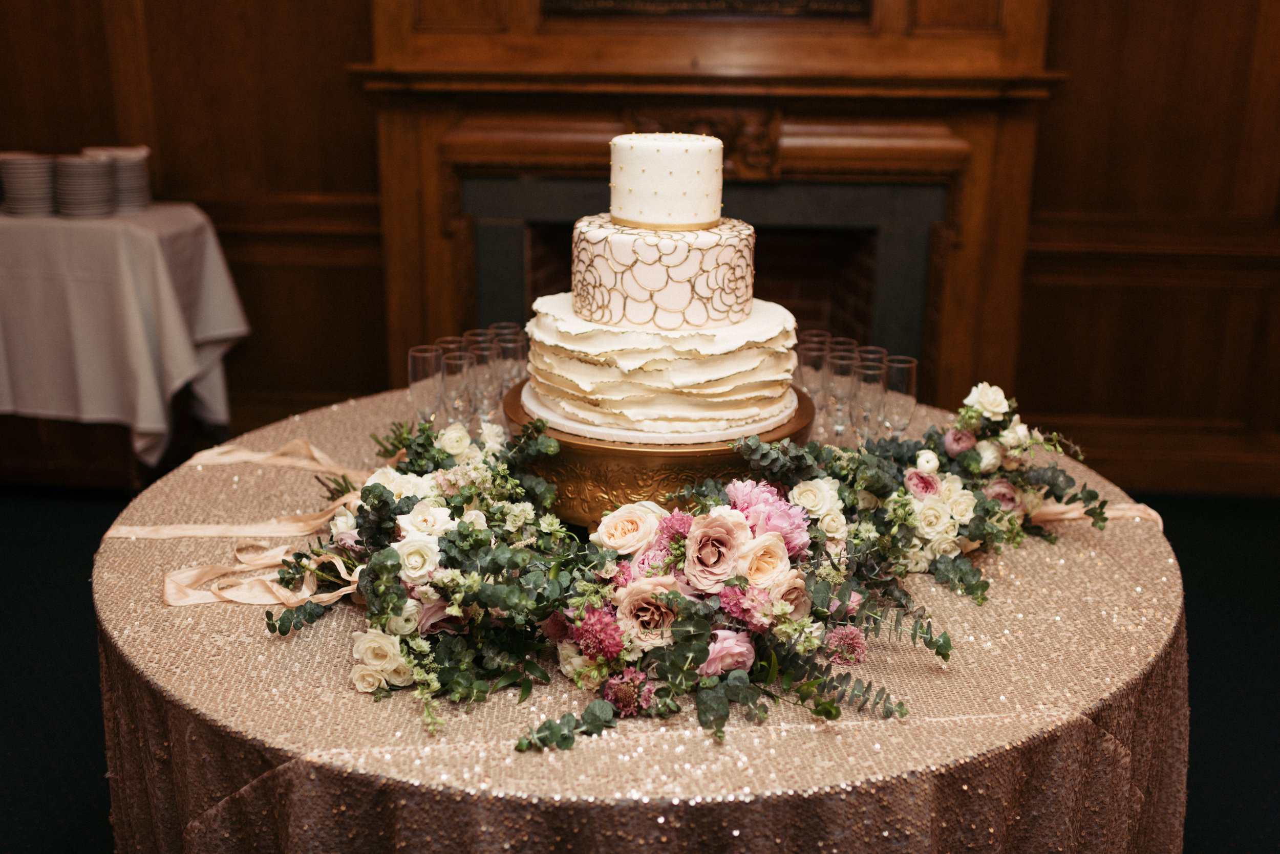 Southern Fete, Southern Wedding, Sky's the Limit Cakes, Root Floral Design