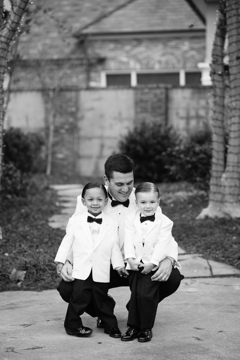 Southern Fete, Southern Wedding, Groom and nephews, Hannah Mulligan Photography