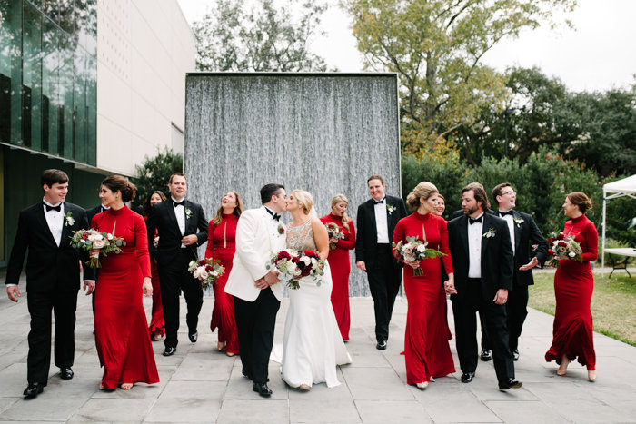 Southern Fete, Southern Wedding, Bridesmaid and Groomsman, Paul and Lulu Hilliard Art Museum
