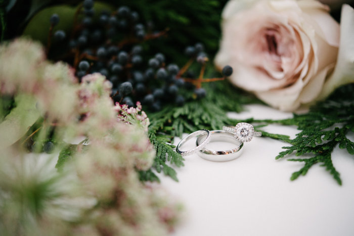 Southern Fete, Southern Wedding, Root Floral Design,  Bride and Groom rings