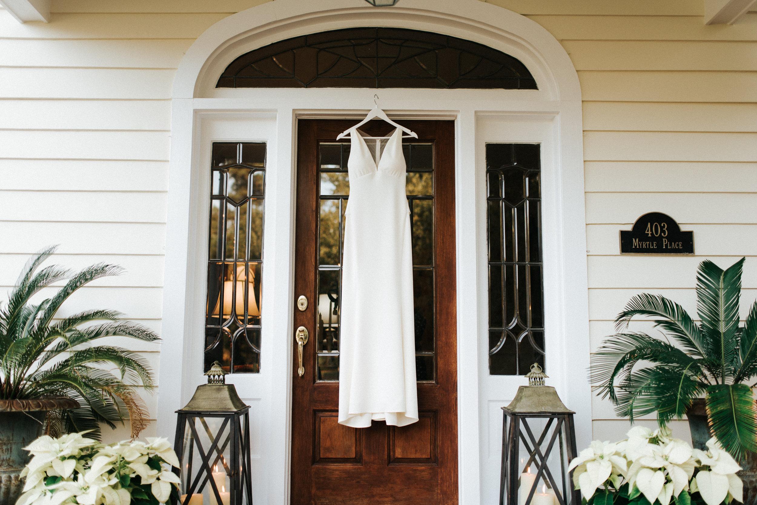 Southern Fete, Southern Wedding, Bride's Wedding Dress