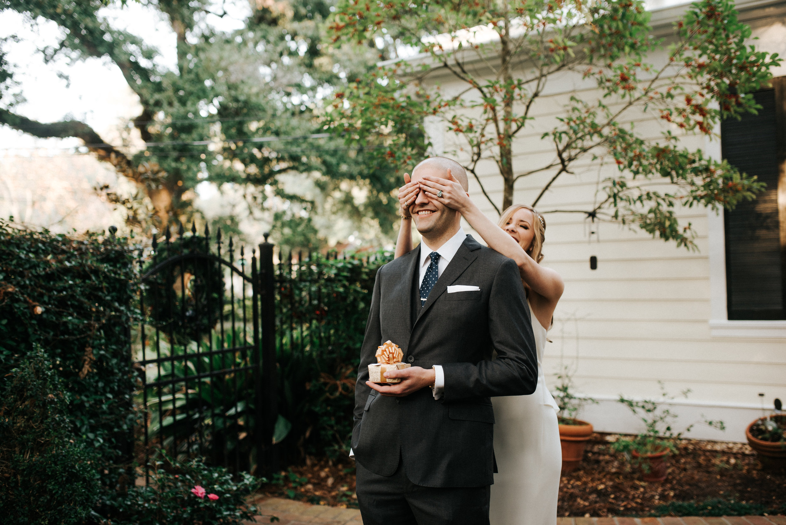 Southern Fete, Southern Wedding, First Look, Hannah Mulligan Photography