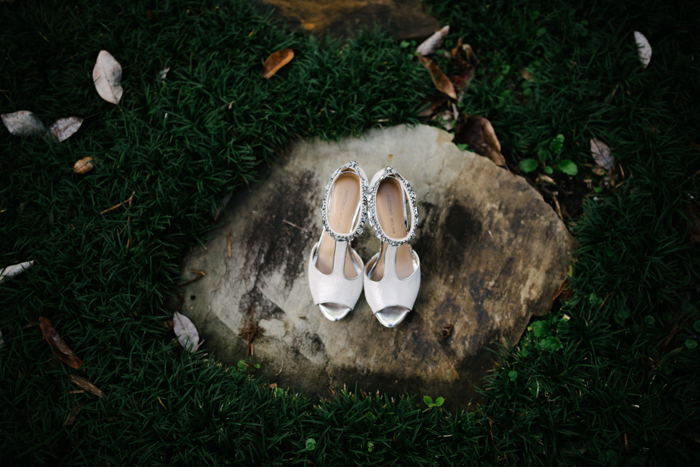Southern Fete, Southern Wedding, Bride's Shoes, Hannah Mulligan Photography