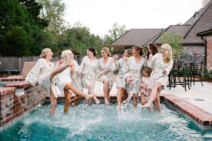 Southern Fete, Southern Wedding, Hannah Mulligan Photography, Bridal Party Pictures