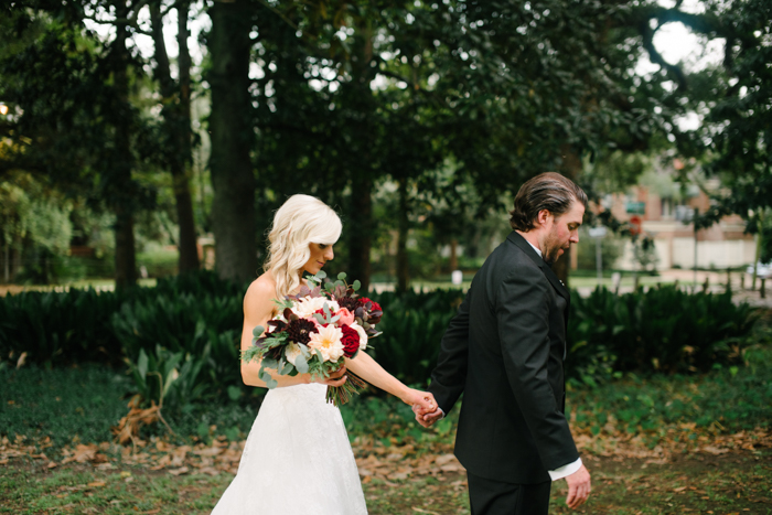 Southern Fete, Southern Wedding, Bride and Groom, Root Floral Design