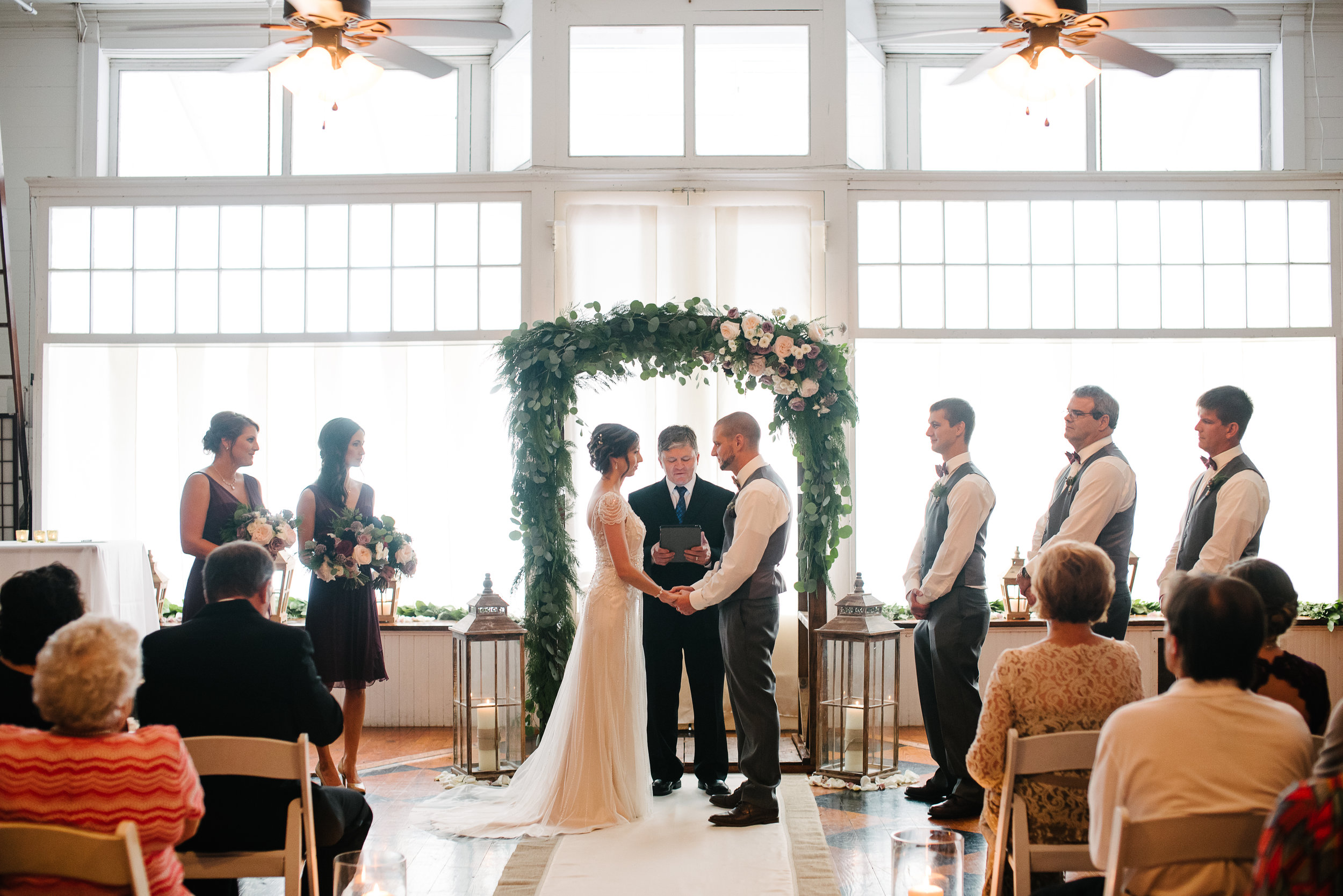 Southern Fete, Southern Wedding, Ceremony, Wolff Ballroom