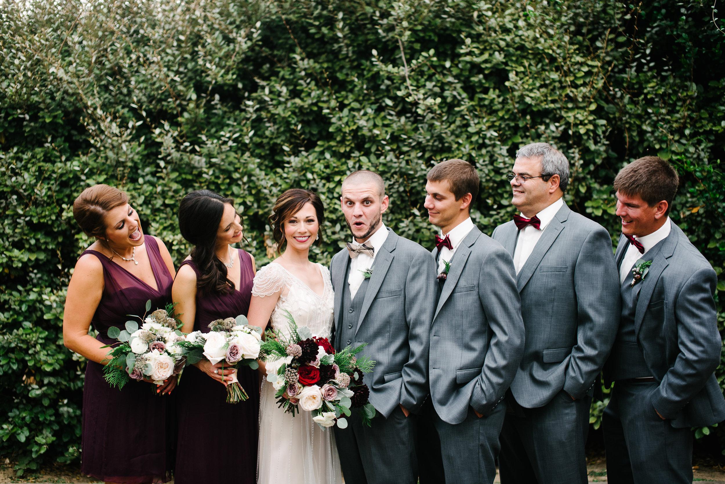 Southern Fete, Southern Wedding, Bridal Party, Hannah Mulligan Photography
