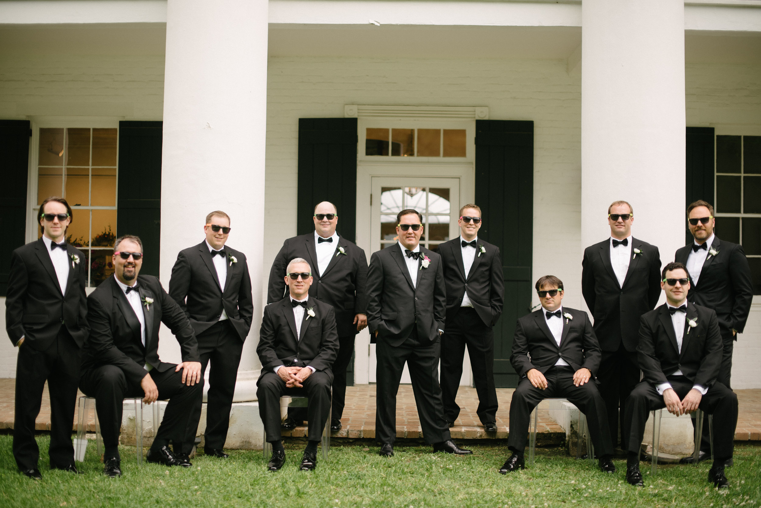 Southern Fete, Southern Wedding, Groomsman, Erin and Geoffrey Photography
