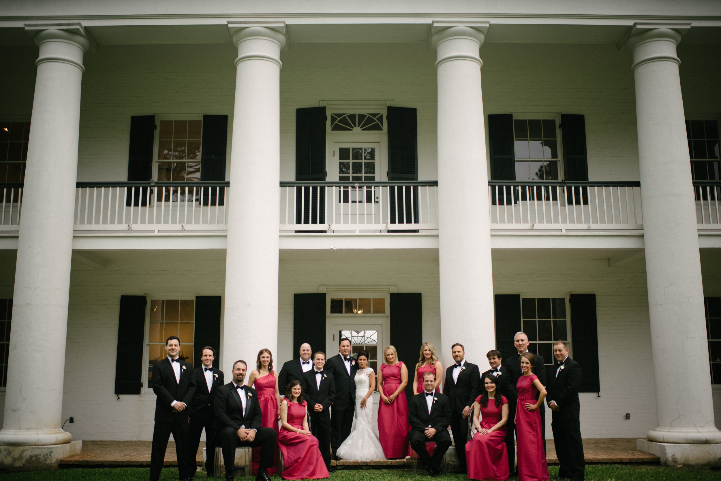 Southern Fete, Southern Wedding, Paul and Lulu Hilliard, Art Museum, Bridal party
