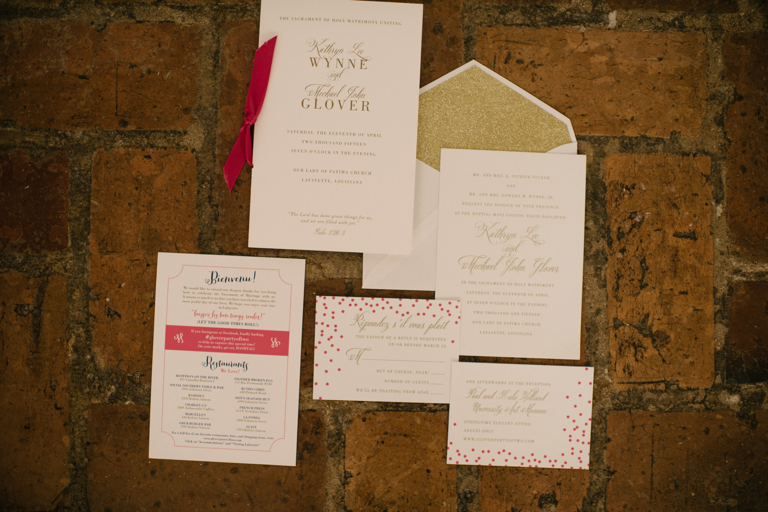 Southern Fete, Southern Wedding, Programs, Inkling Design Studio