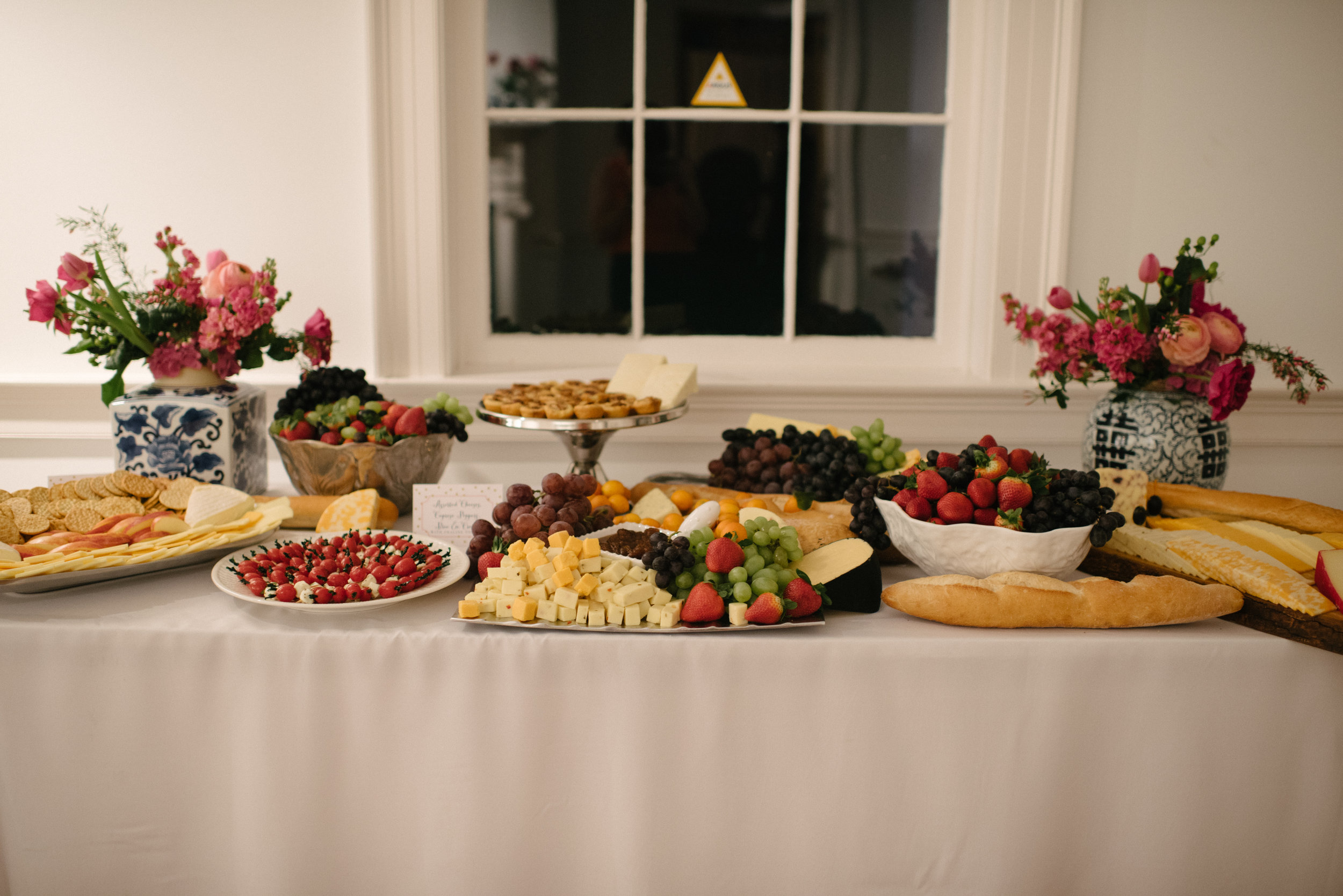 Southern Fete, Southern Wedding, Stacy Landry Catering, Fruit and Cracker Table