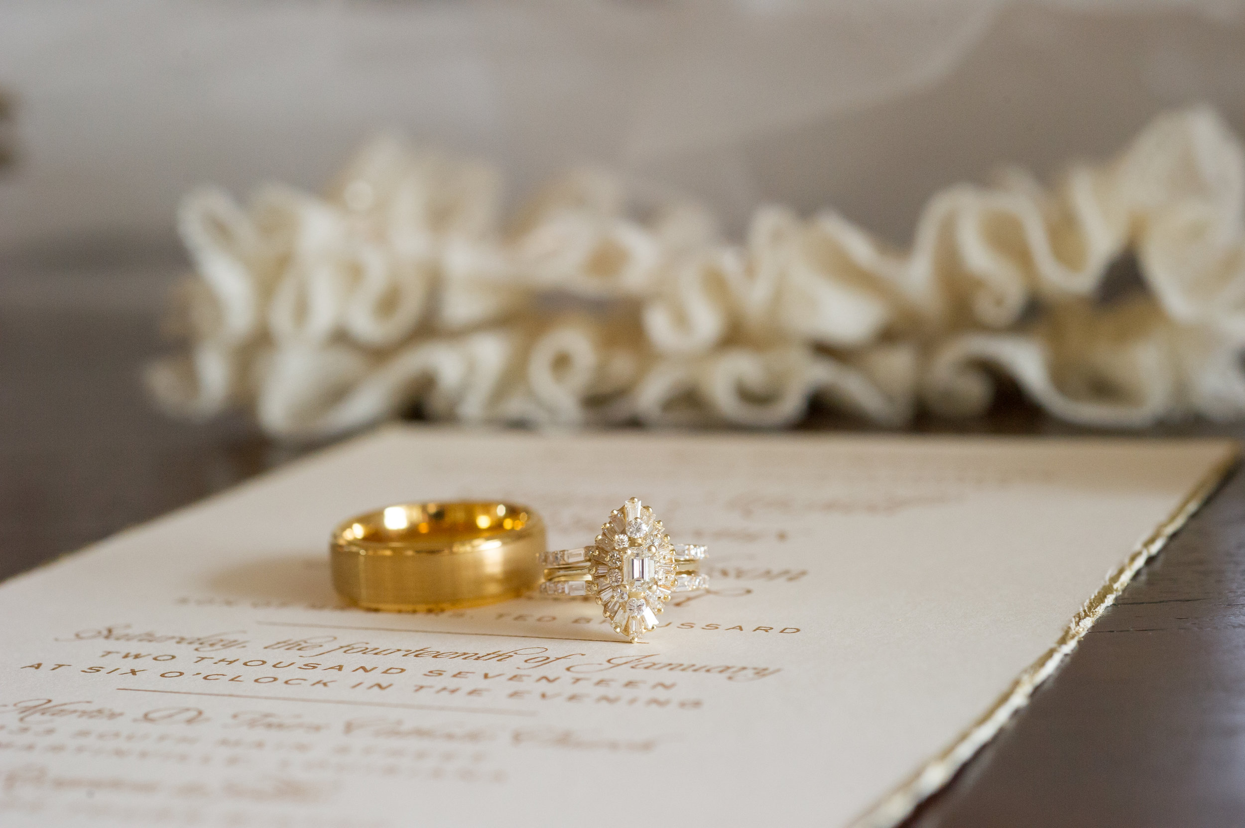 Southern Fete, Southern Wedding, Wedding rings