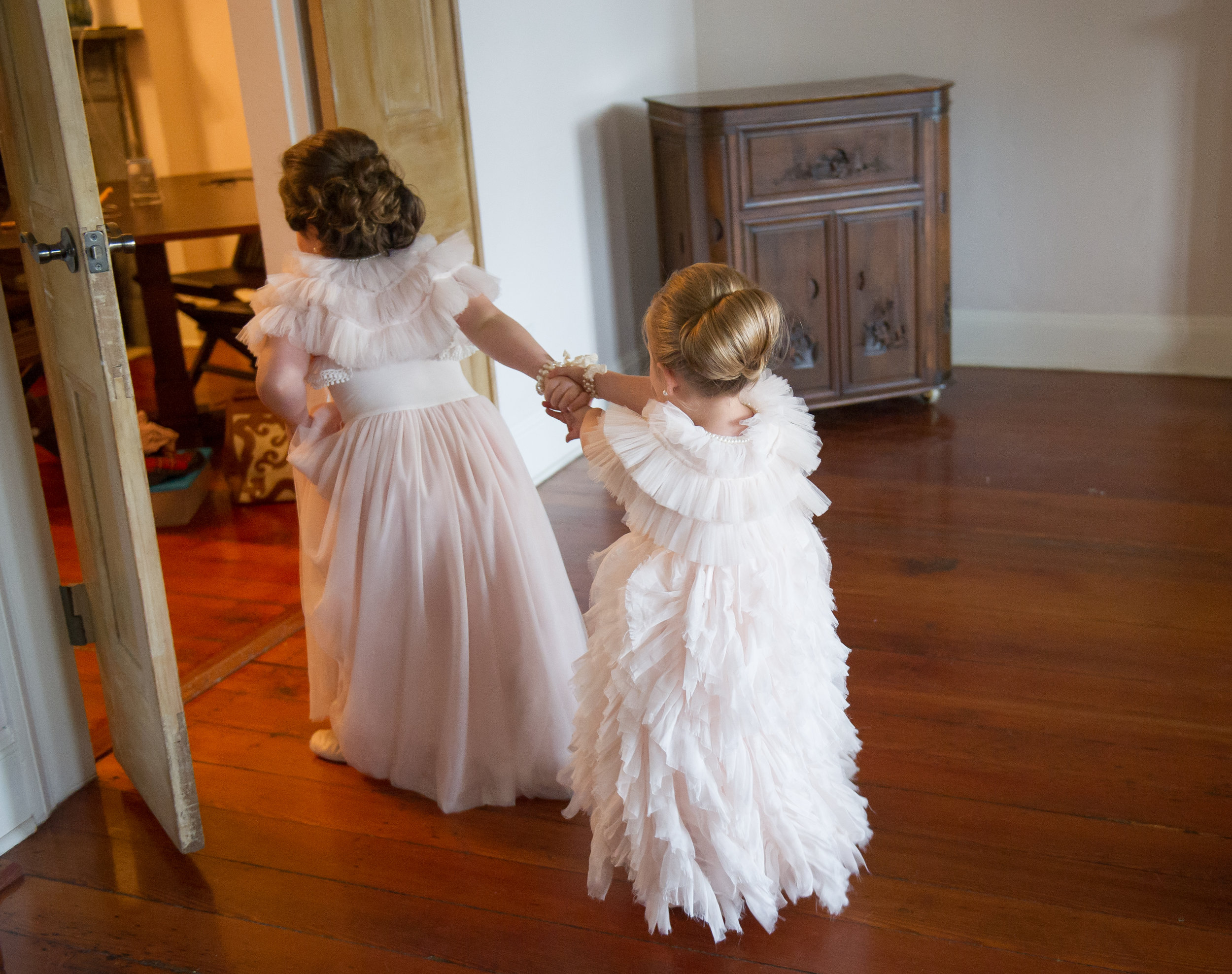 Southern Fete, Southern Wedding, Flower girls