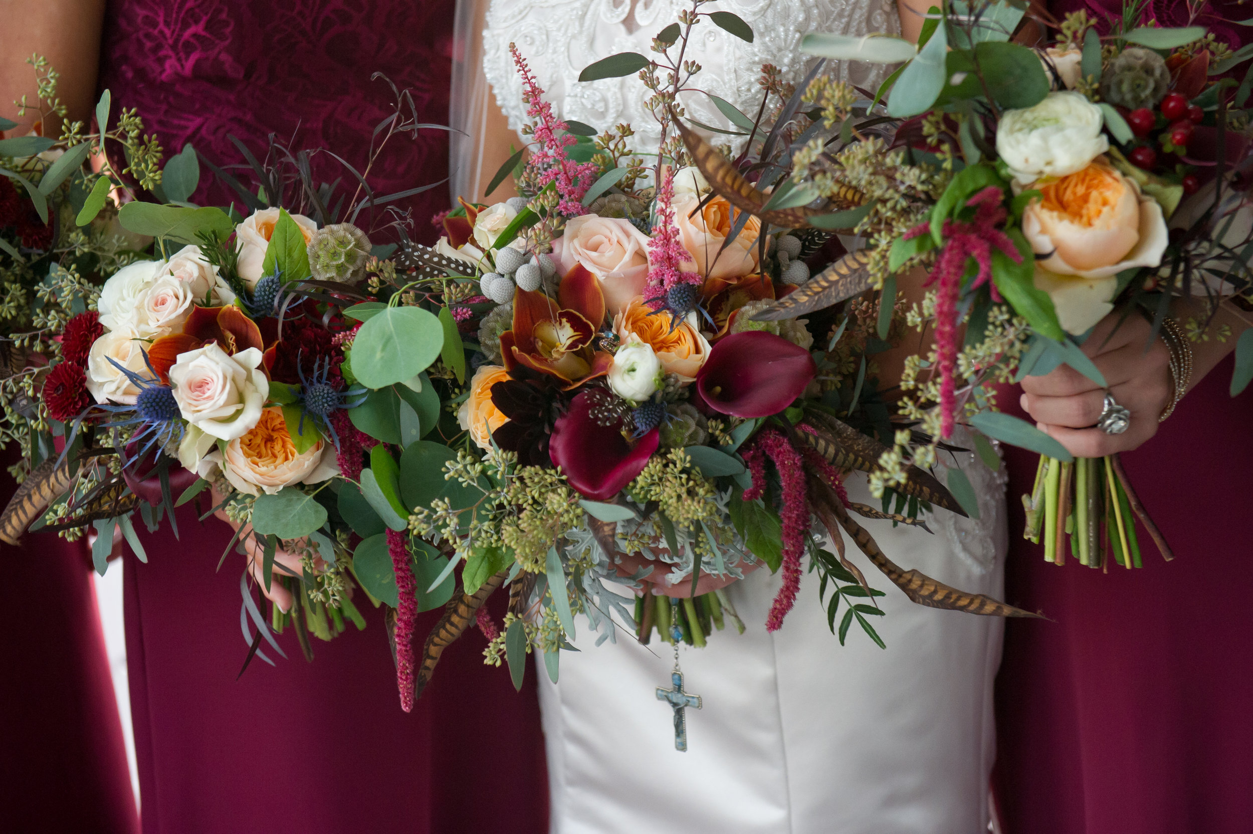 Southern Fete, Southern Wedding, Multi-design Flower Bouquet