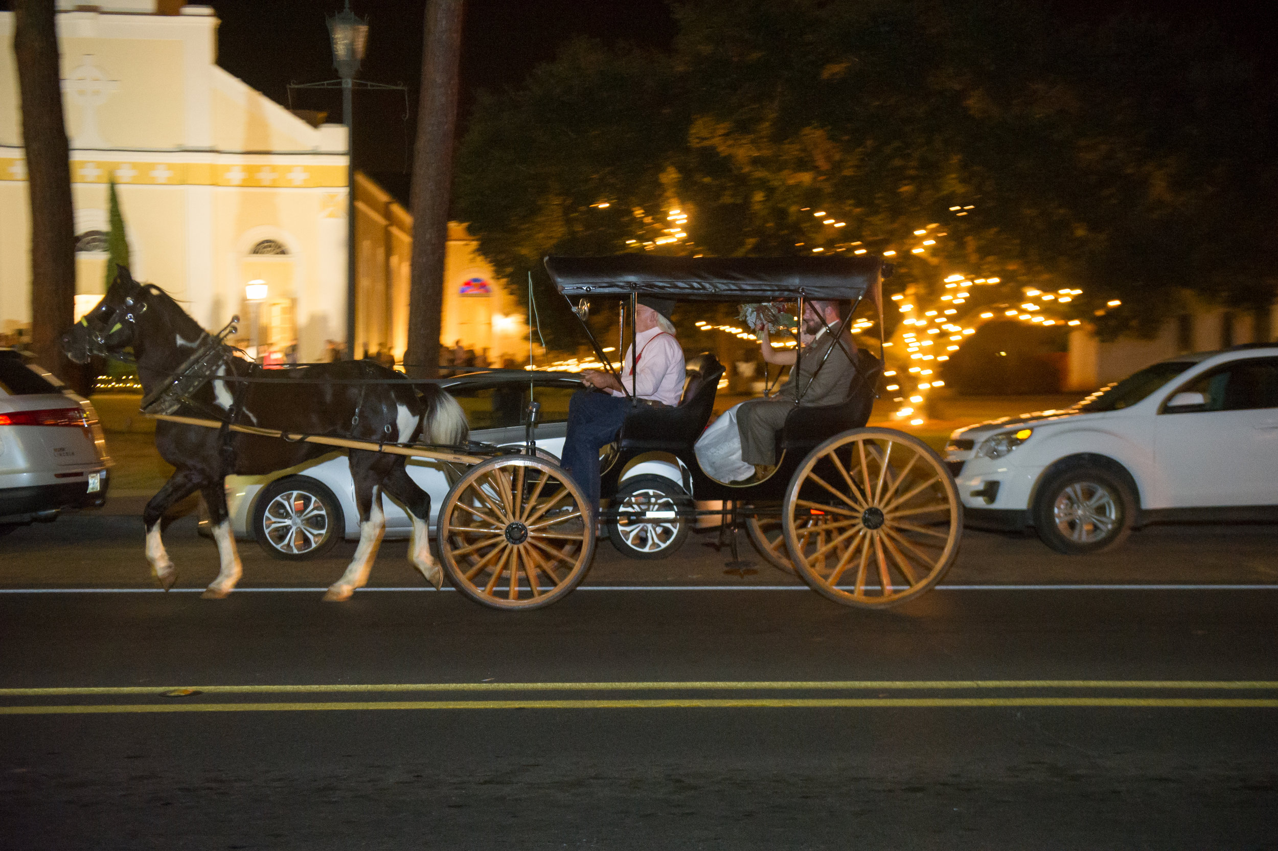 Southern Fete, Southern Wedding, Carriage ride