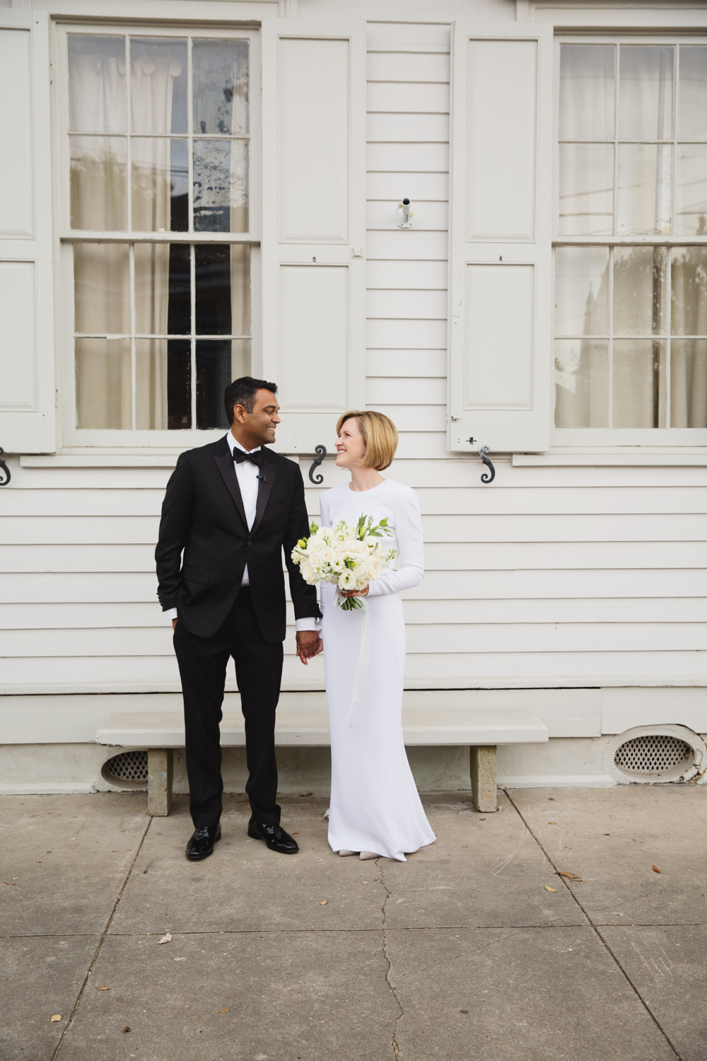 Southern Fete, Southern Wedding, Bride and Groom, E Ray Photo, Root Floral Design
