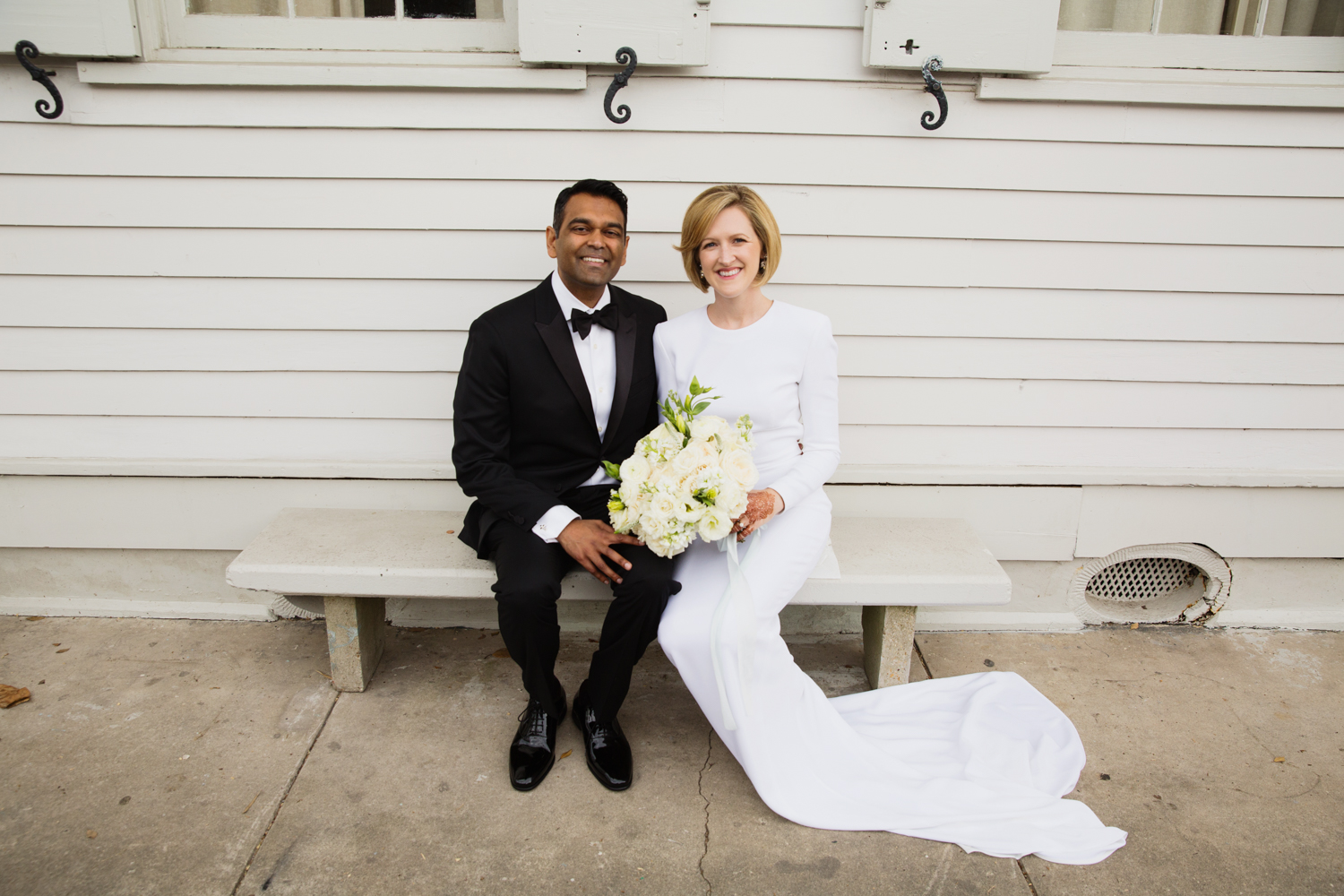Southern Fete, Southern Wedding, E Ray Photo, Root Floral Design, Bride and Groom